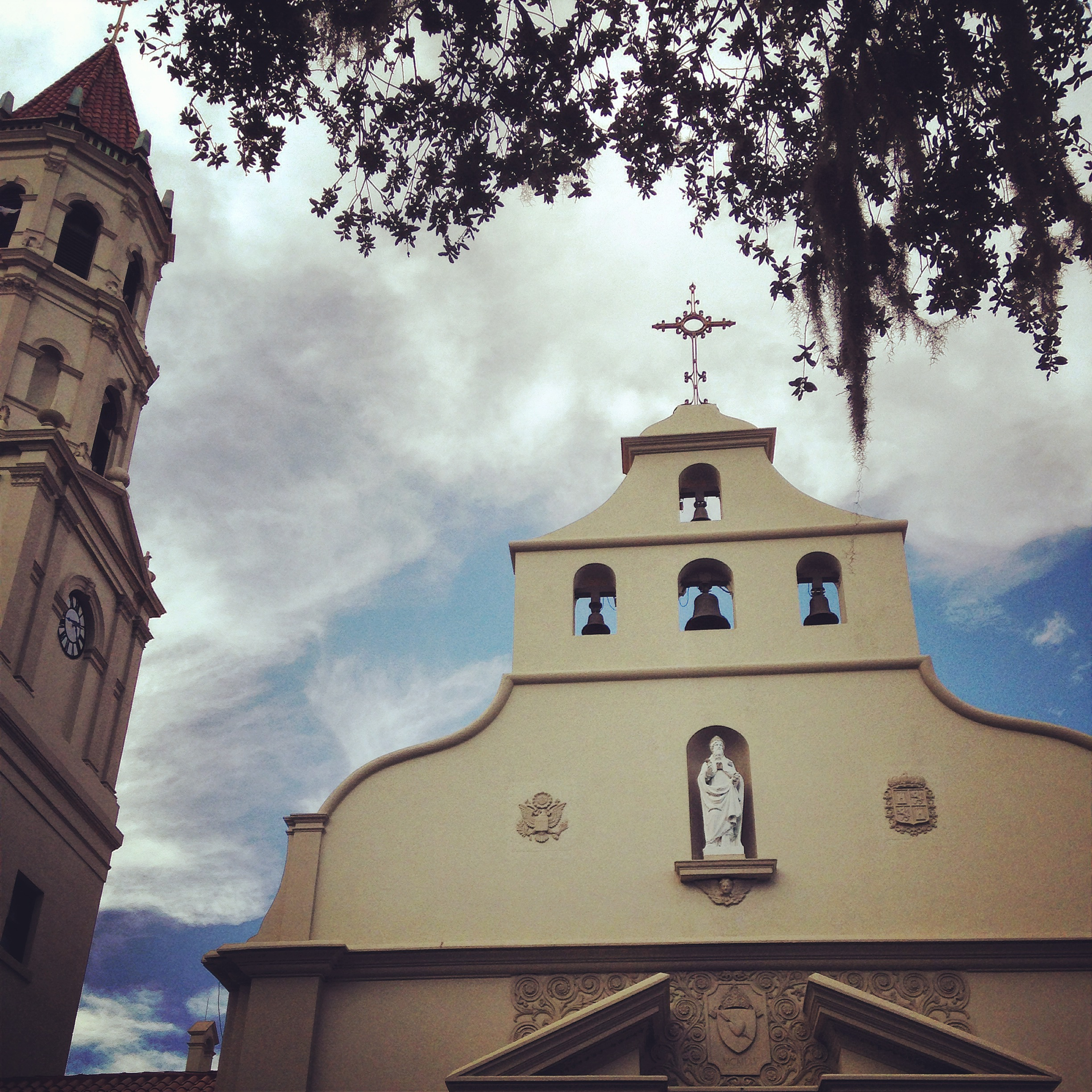 The Cathedral Basilica of St. Augustine, finished in 1797.