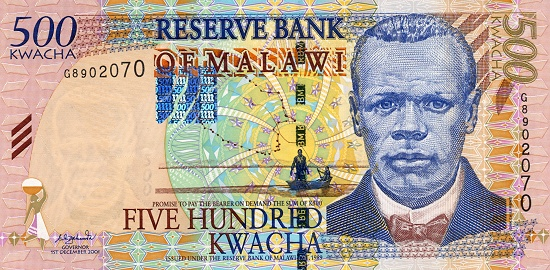 Chilembwe continues to grace Malawi currency to this day. He used to be featured on all printed notes until the year 2000.