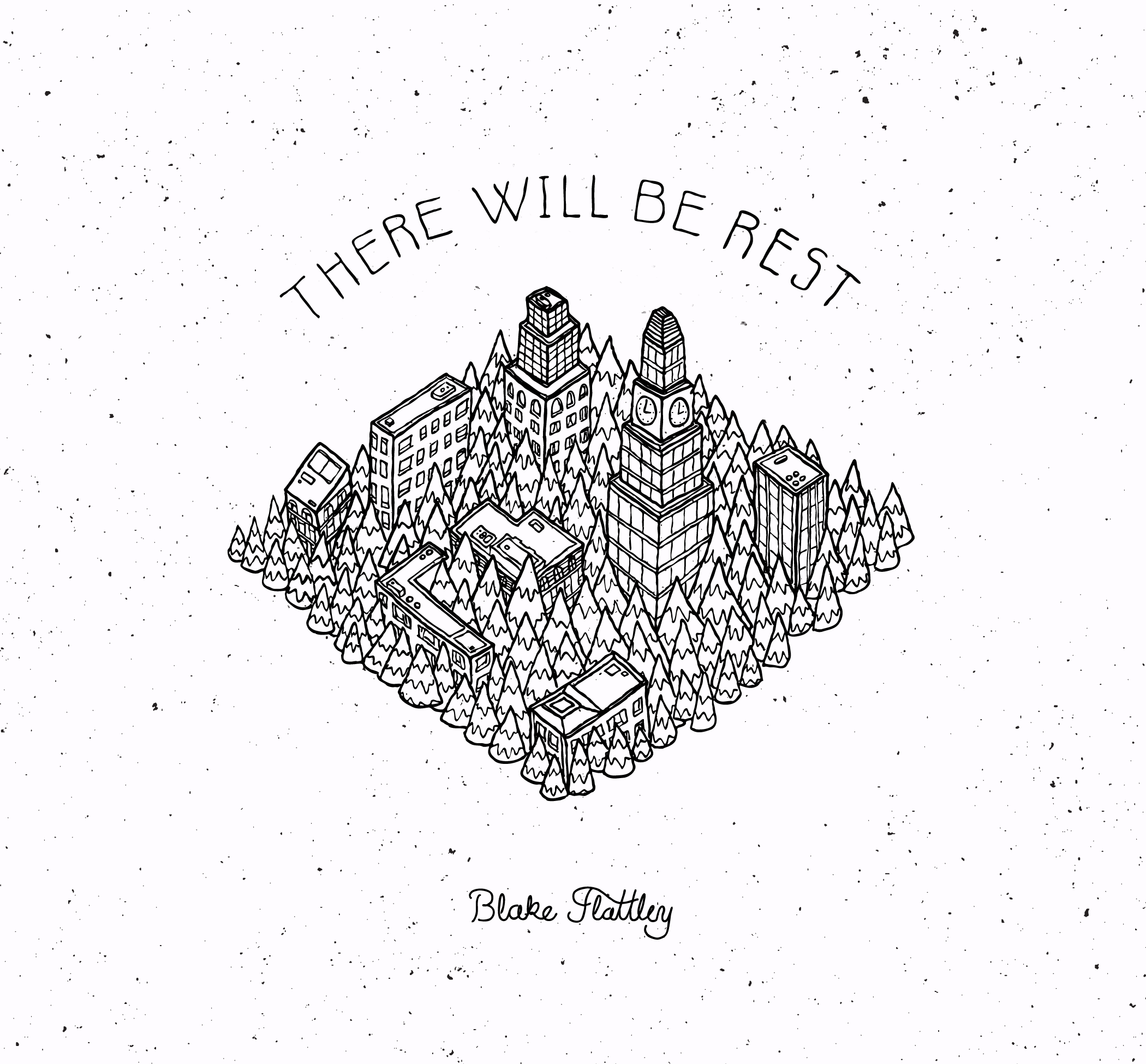 "Flattley's new album, ""There Will Be Rest."""