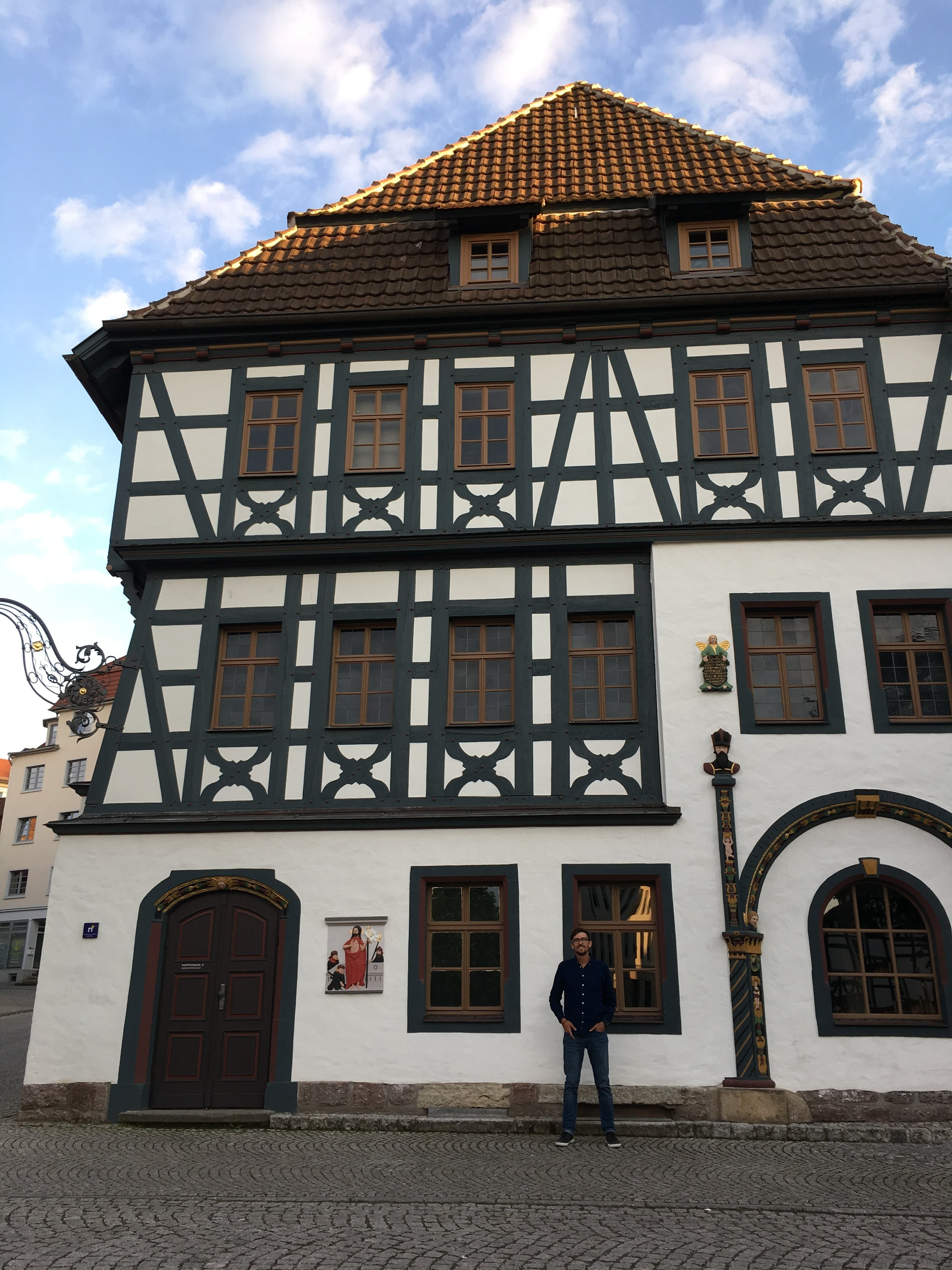 "Can't wait to get back to Eisenach for Lutherhaus…and a restaurant there called ""The Totally Crazy Potato House!"""