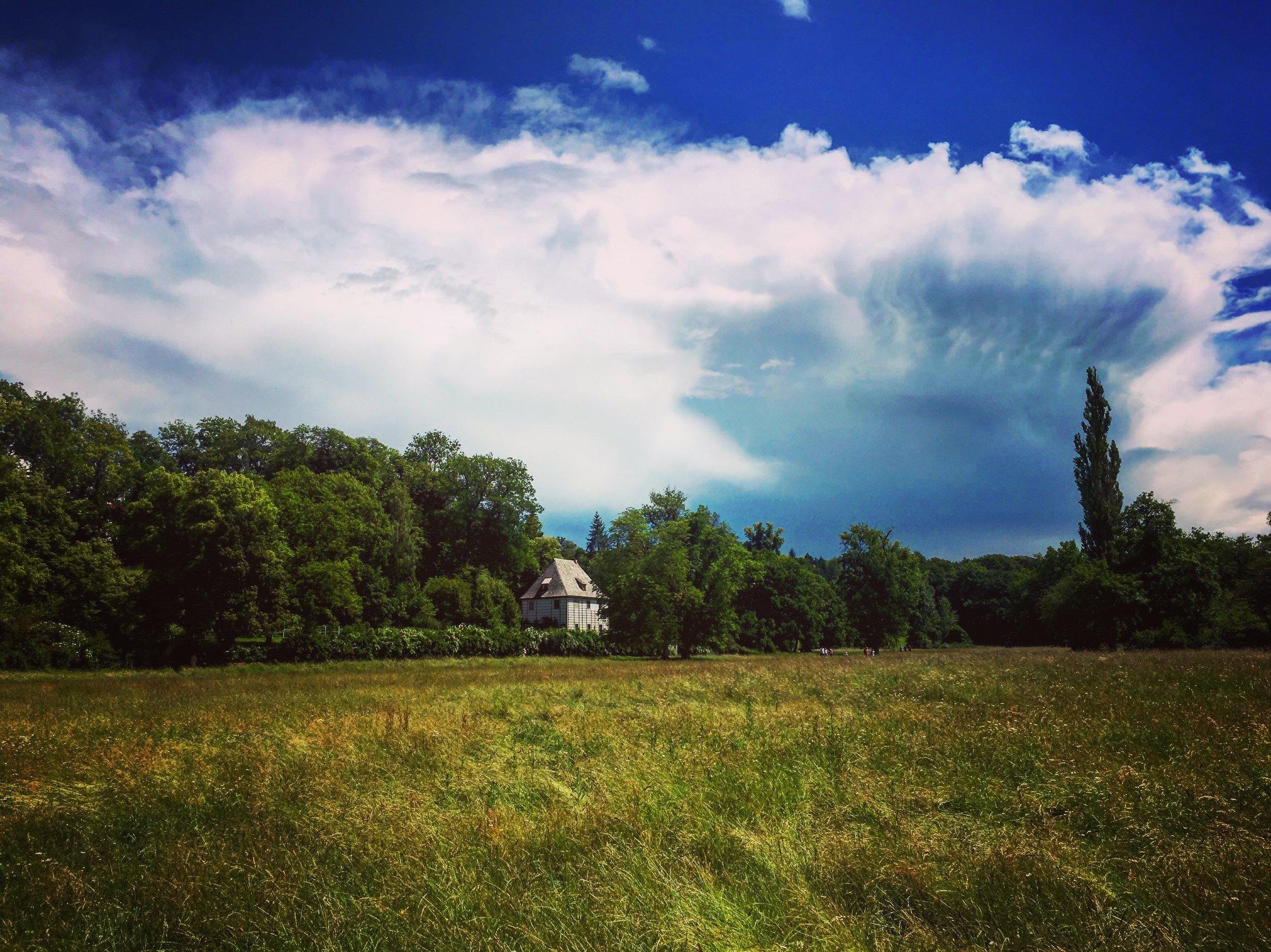 Goethe's House in the Park an der Ilm in Weimar (PHOTO: Ken Chitwood)