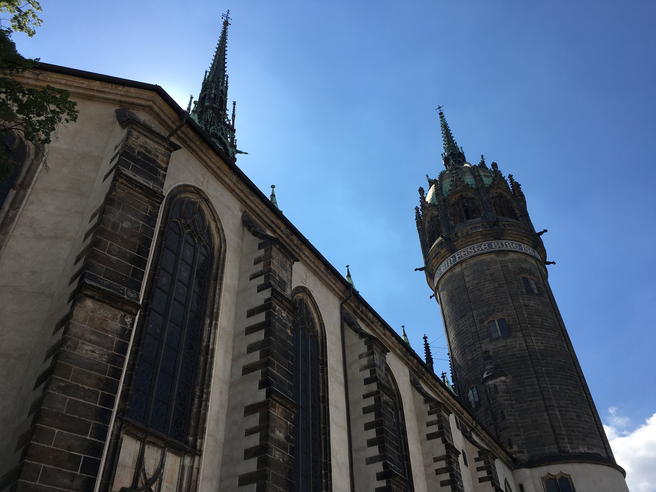 The infamous Castle Church in Lutherstadt-Wittenberg (PHOTO: Ken Chitwood)