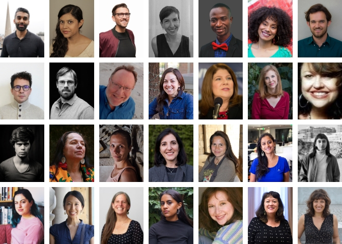 The journalist-fellows for the Spiritual Exemplars Project. (PHOTO: USC Center for Religion and Civic Culture)