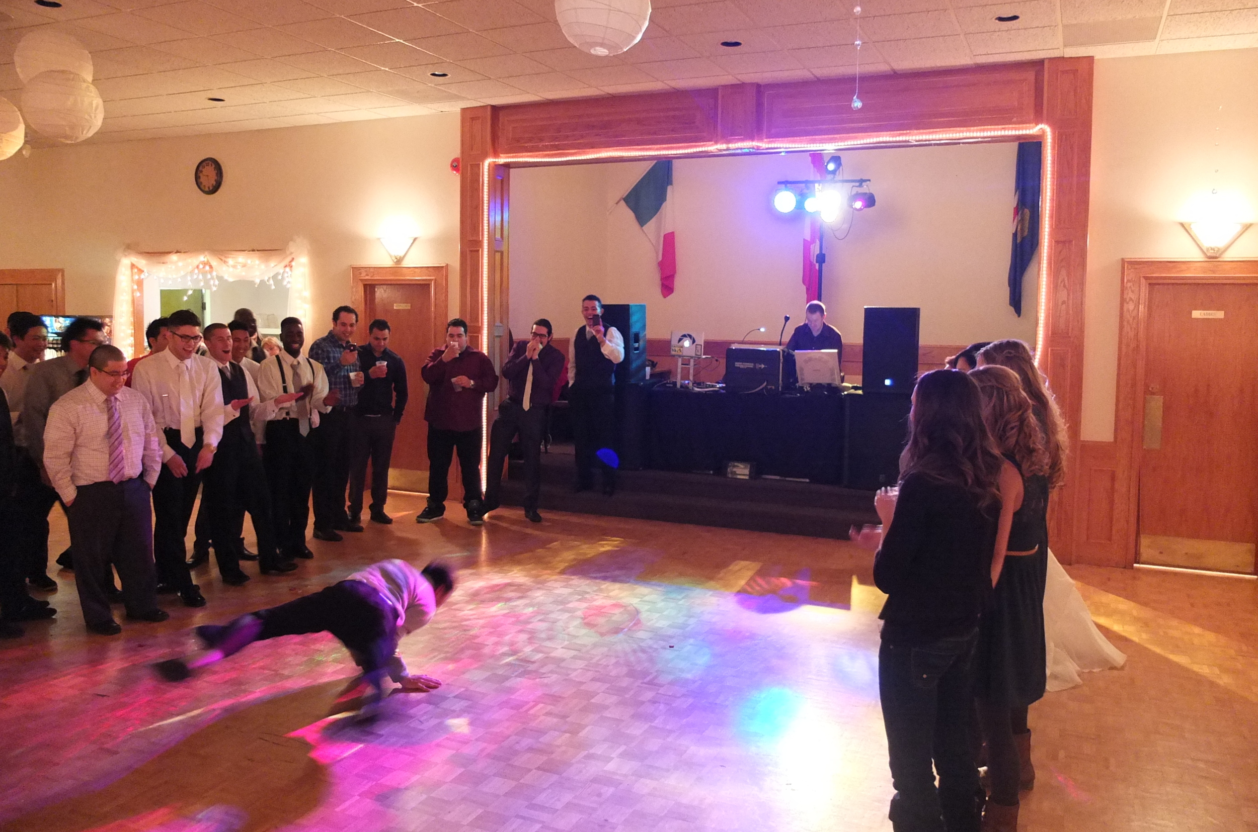 2014 Wedding at the Lethbridge Italian Club