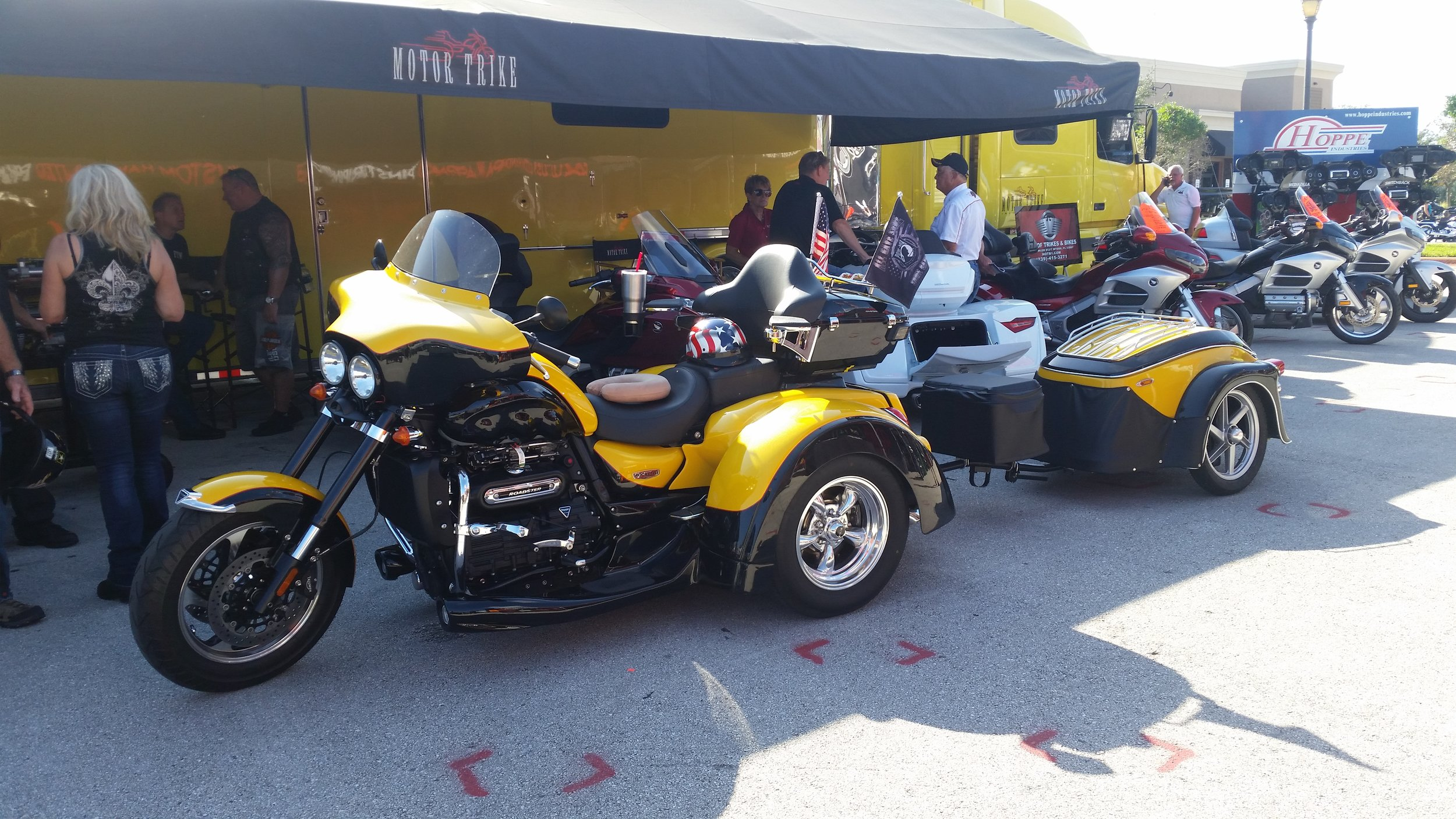 Triumph Rocket III at Daytona Bike Week