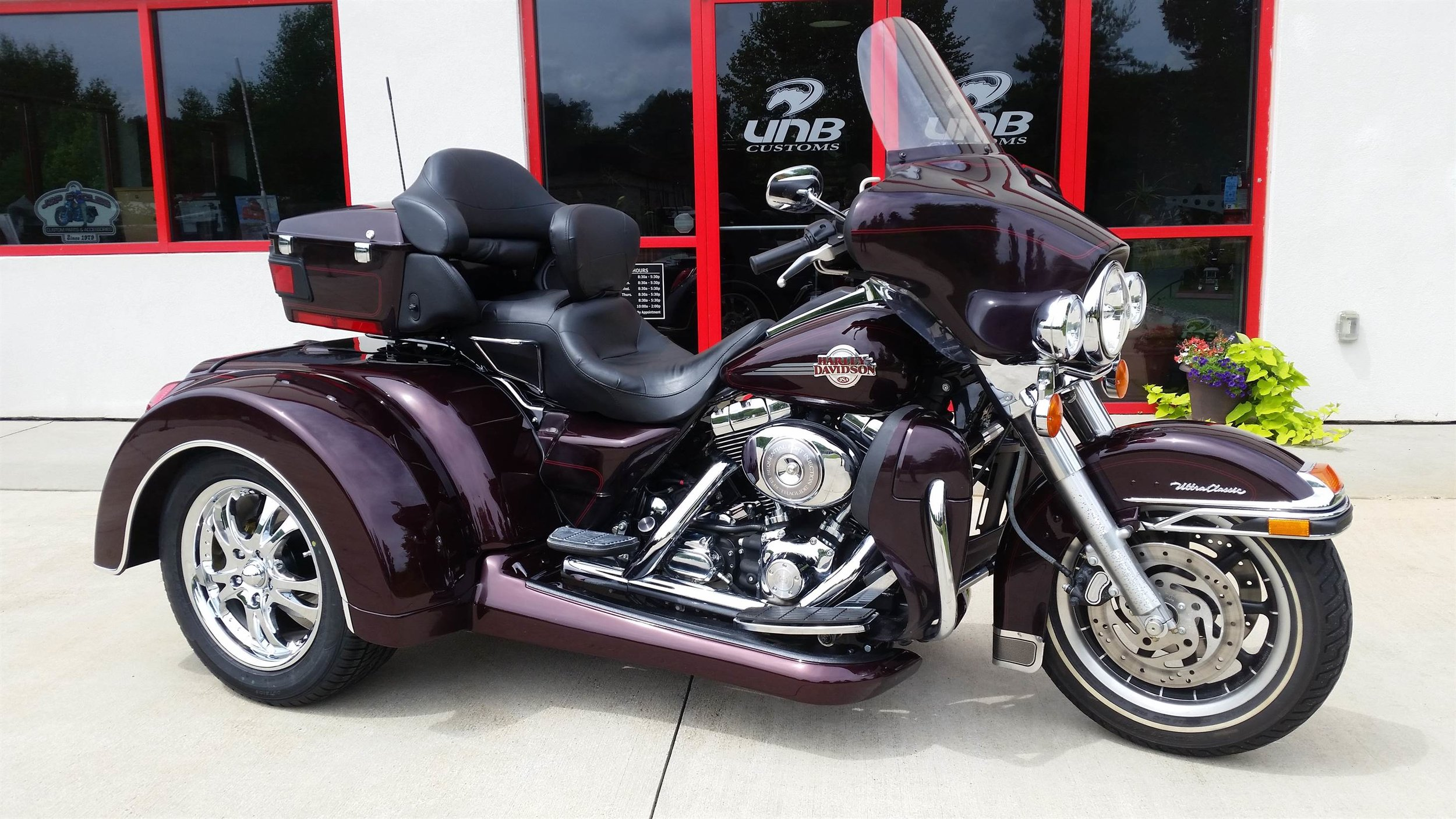 Road Glide Roadsmith trike independent suspension and reverse
