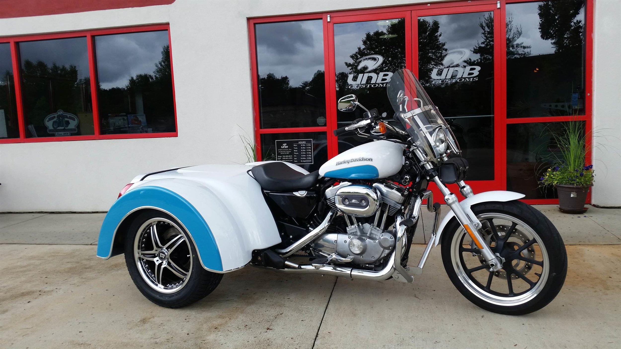 Harley Davidson Sportster Roadsmith trike