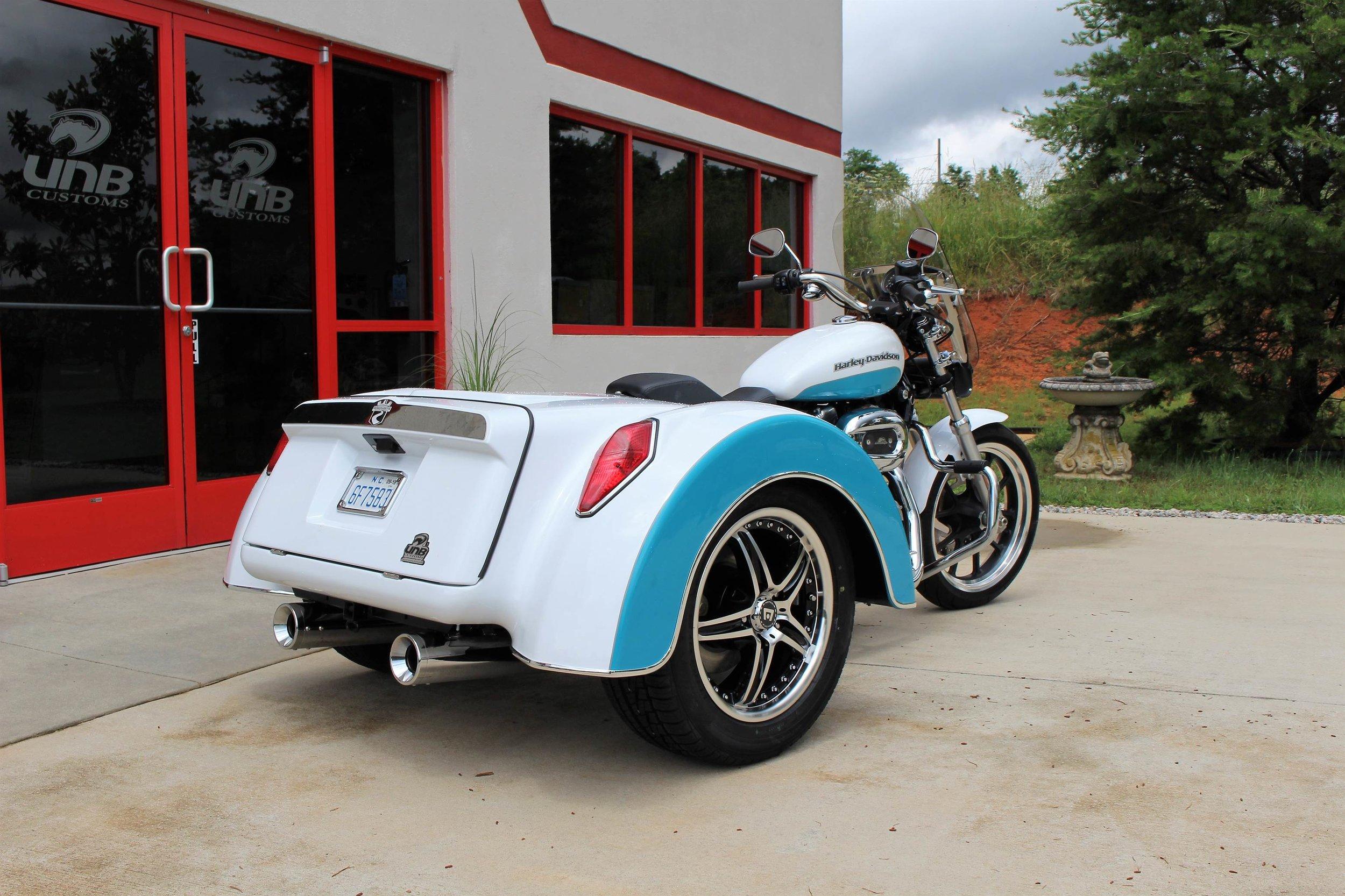 HD Sportster Roadsmith trike rear