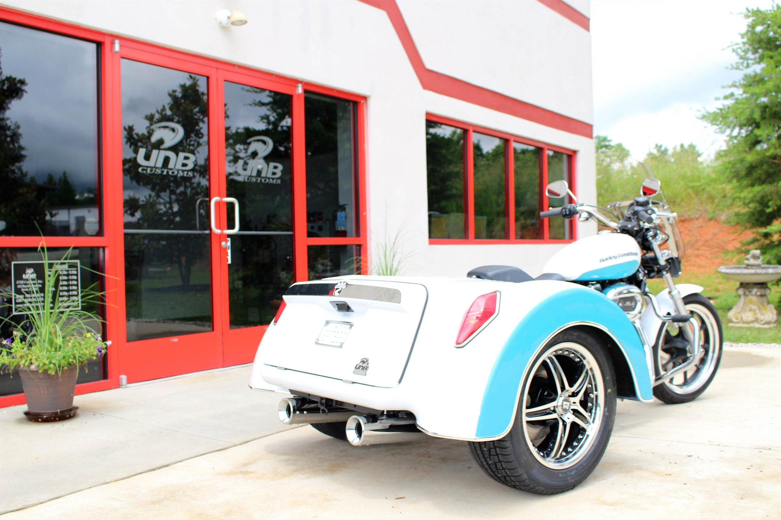 sportster roadsmith trike kit 3/4 rear