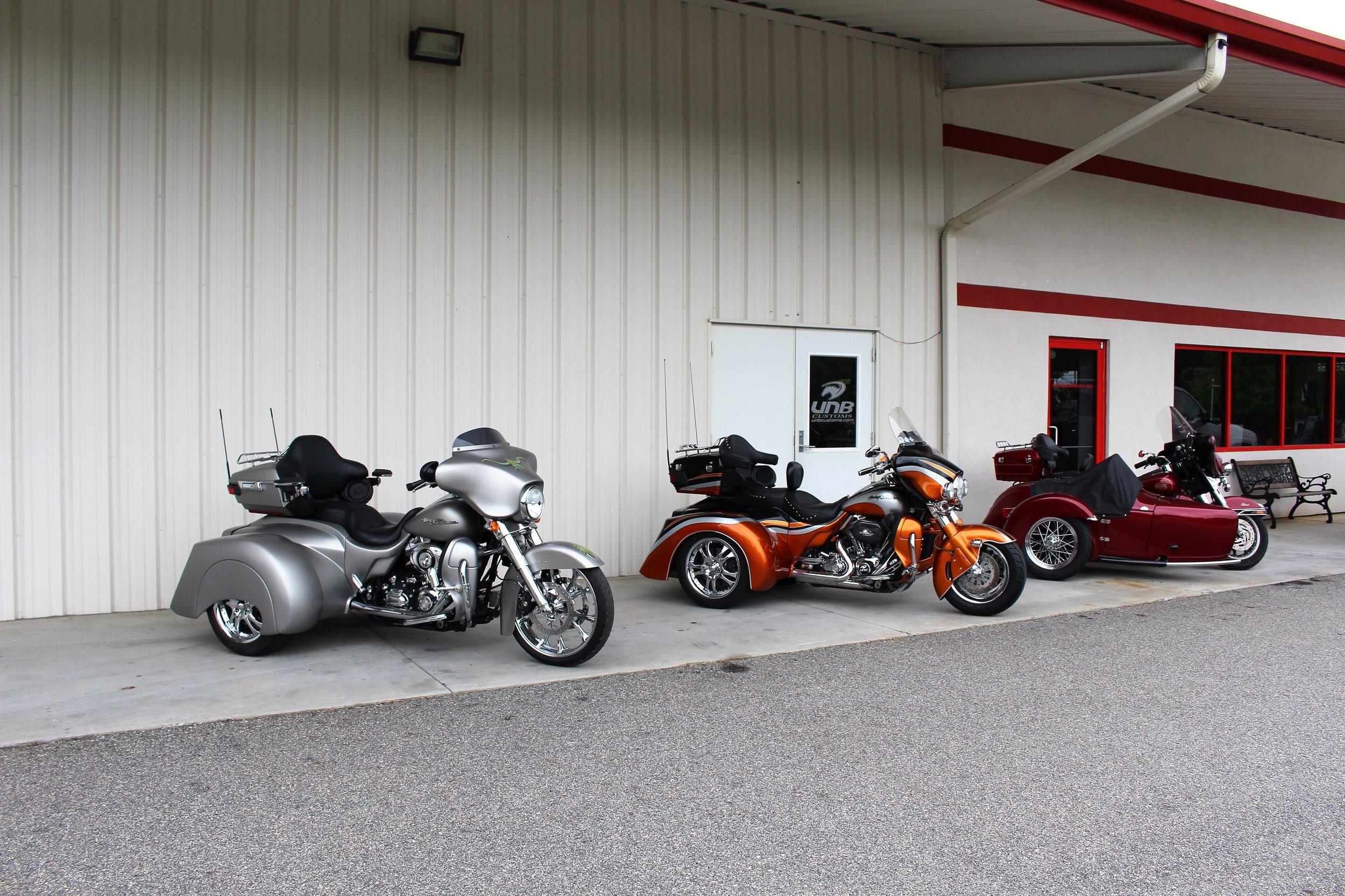 custom Harley Davidson transformer trikes
