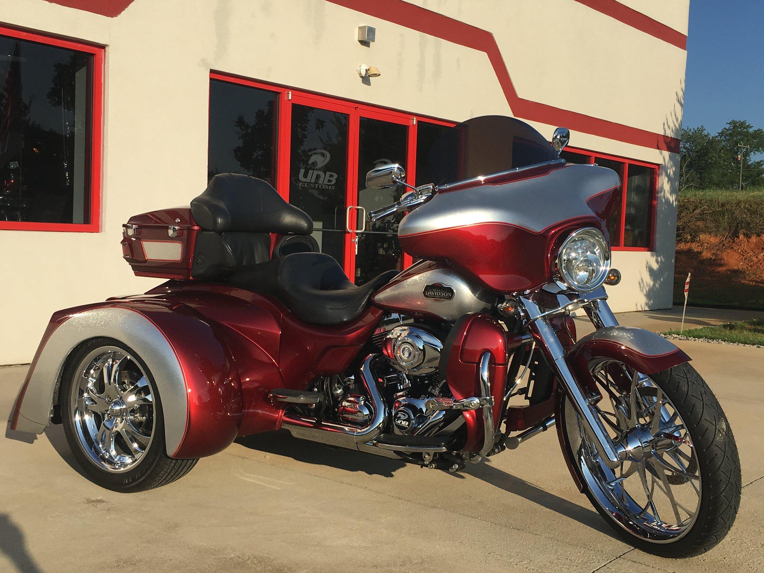 Harley Davidson Transformer trike independent suspension custom paint
