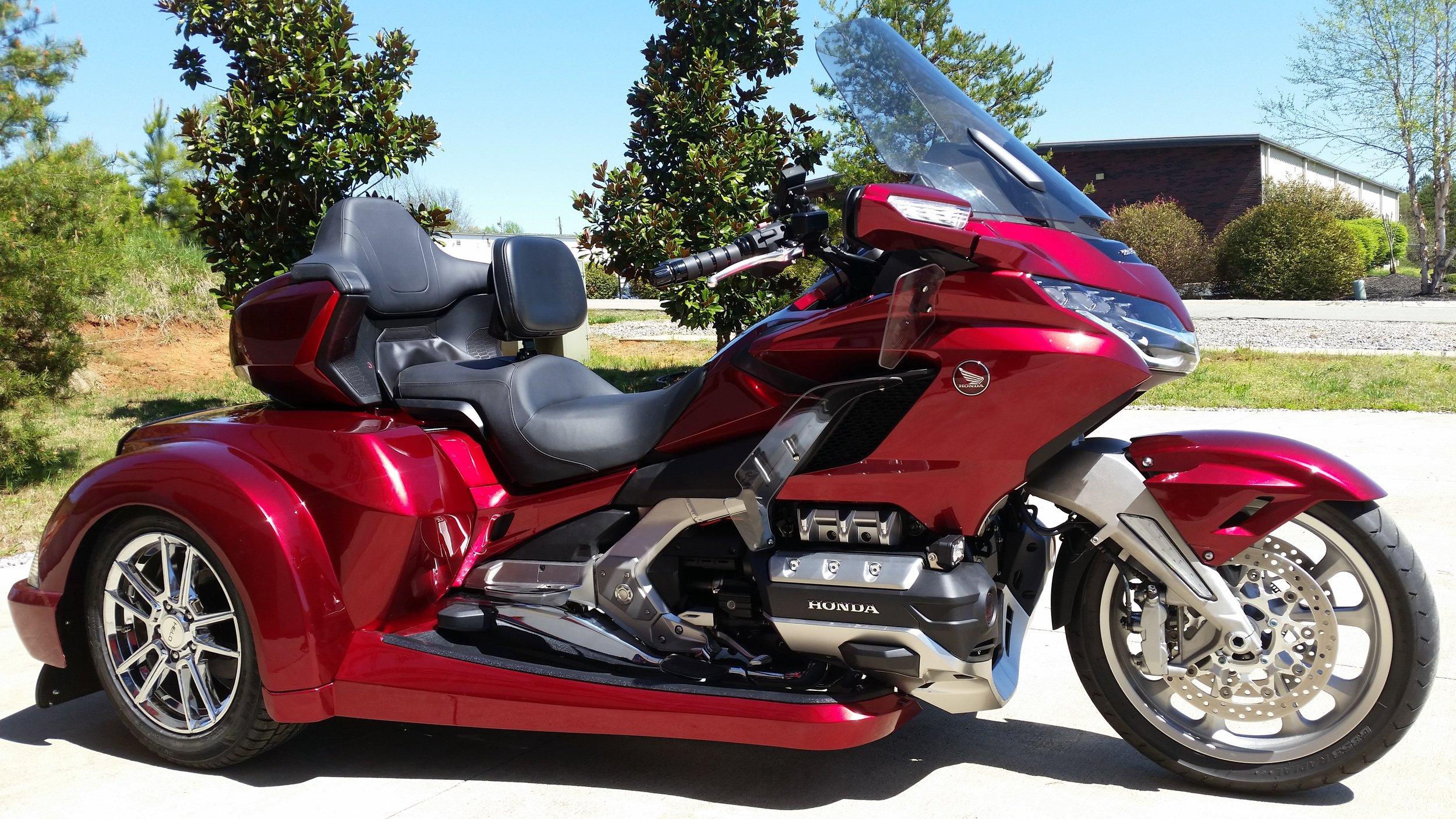 2018 GL1800 Trike Red