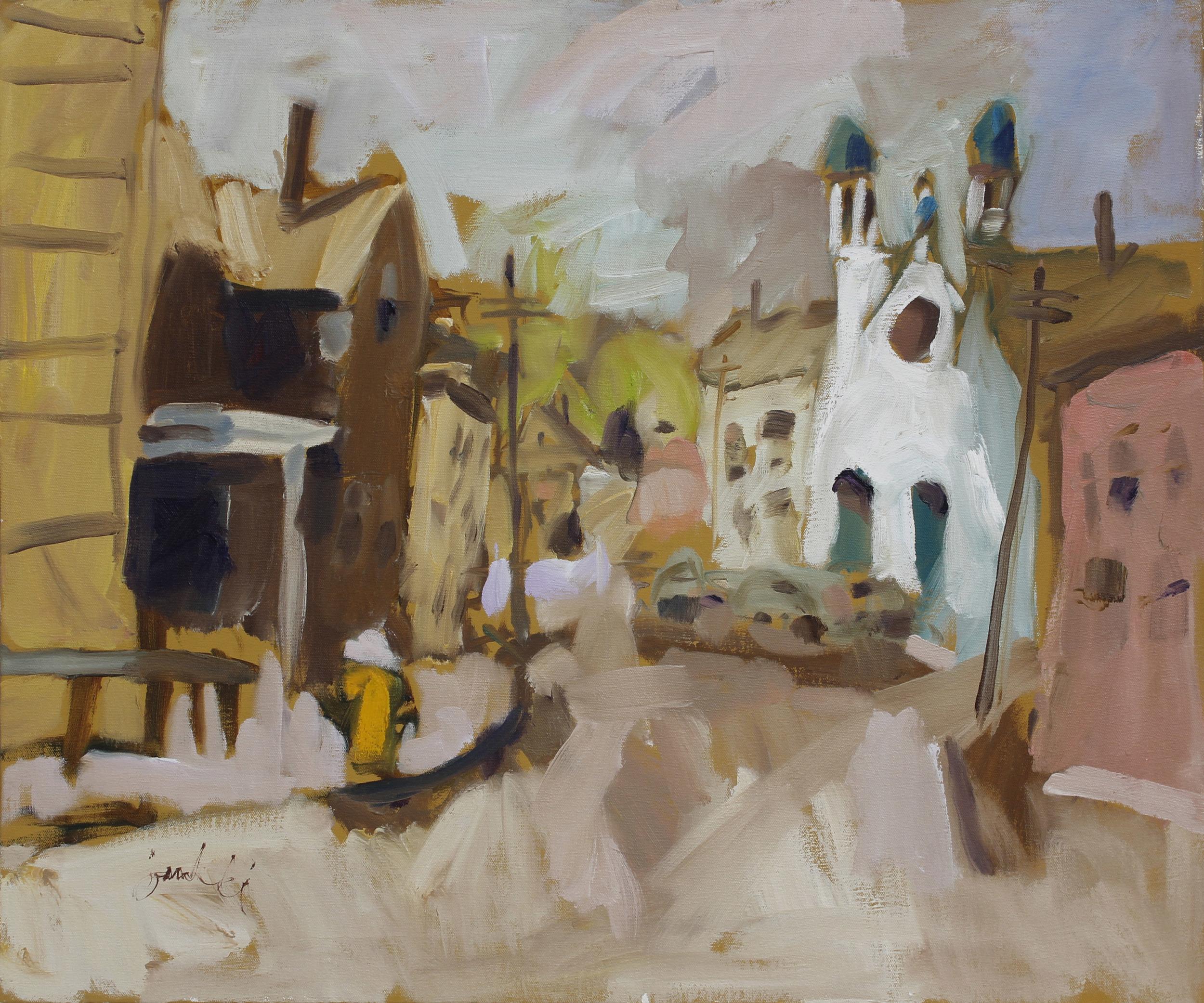 Zygmund Jankowski,  Street Scene, Gloucester