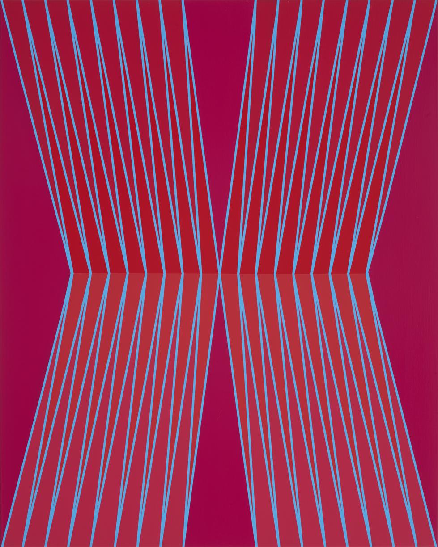 John Guthrie,  Sweet Way,  Acrylic on canvas, 2018.