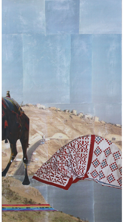 """The Quilt   (28"""" x 52"""")  --SOLD"""