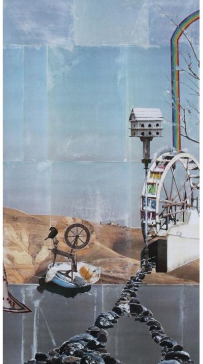 "Desert Water   (28"" x 52"")  --SOLD"