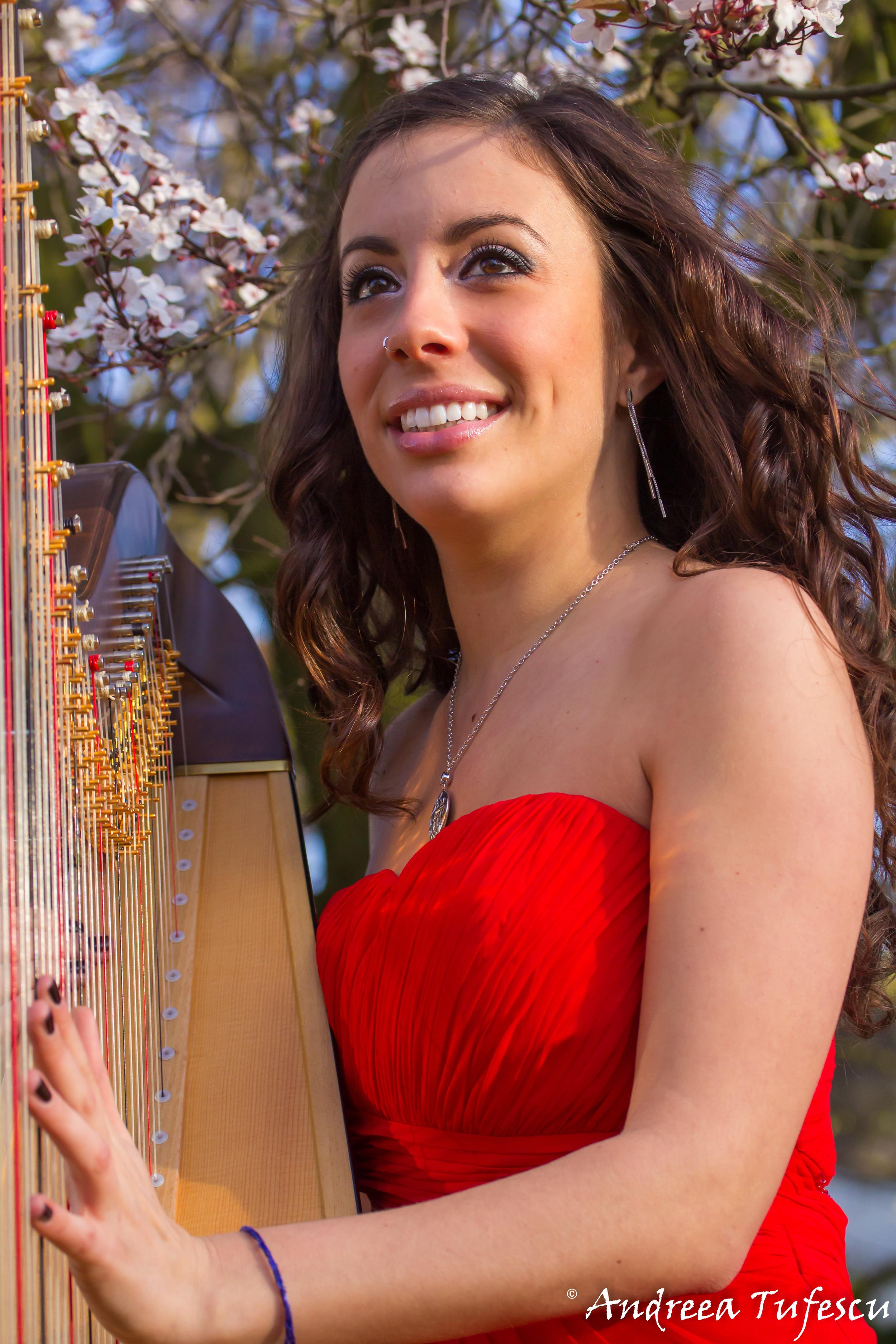 Harpist JOSEPHINE SALVI