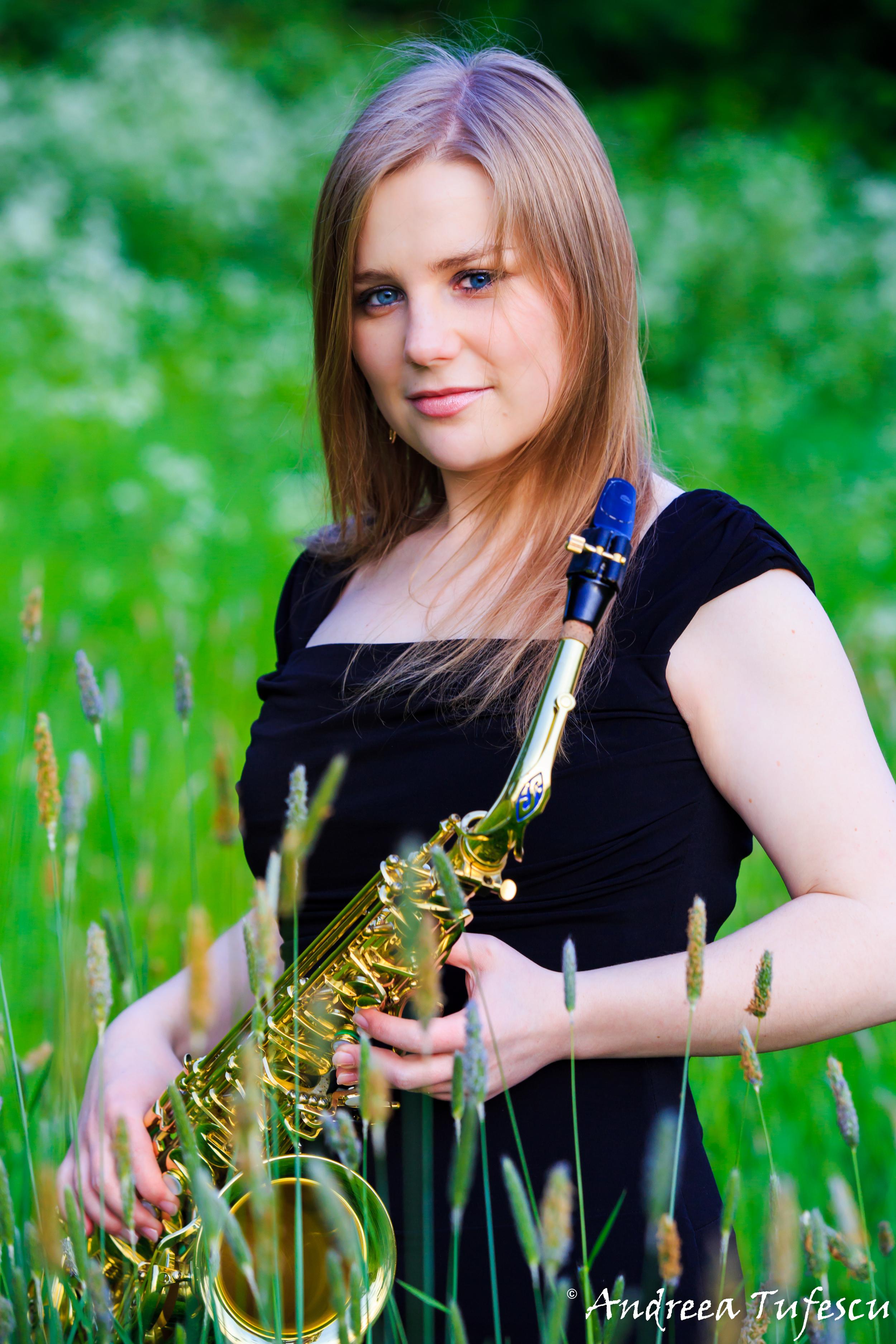 Saxophonist ALZBETA KLASOVA