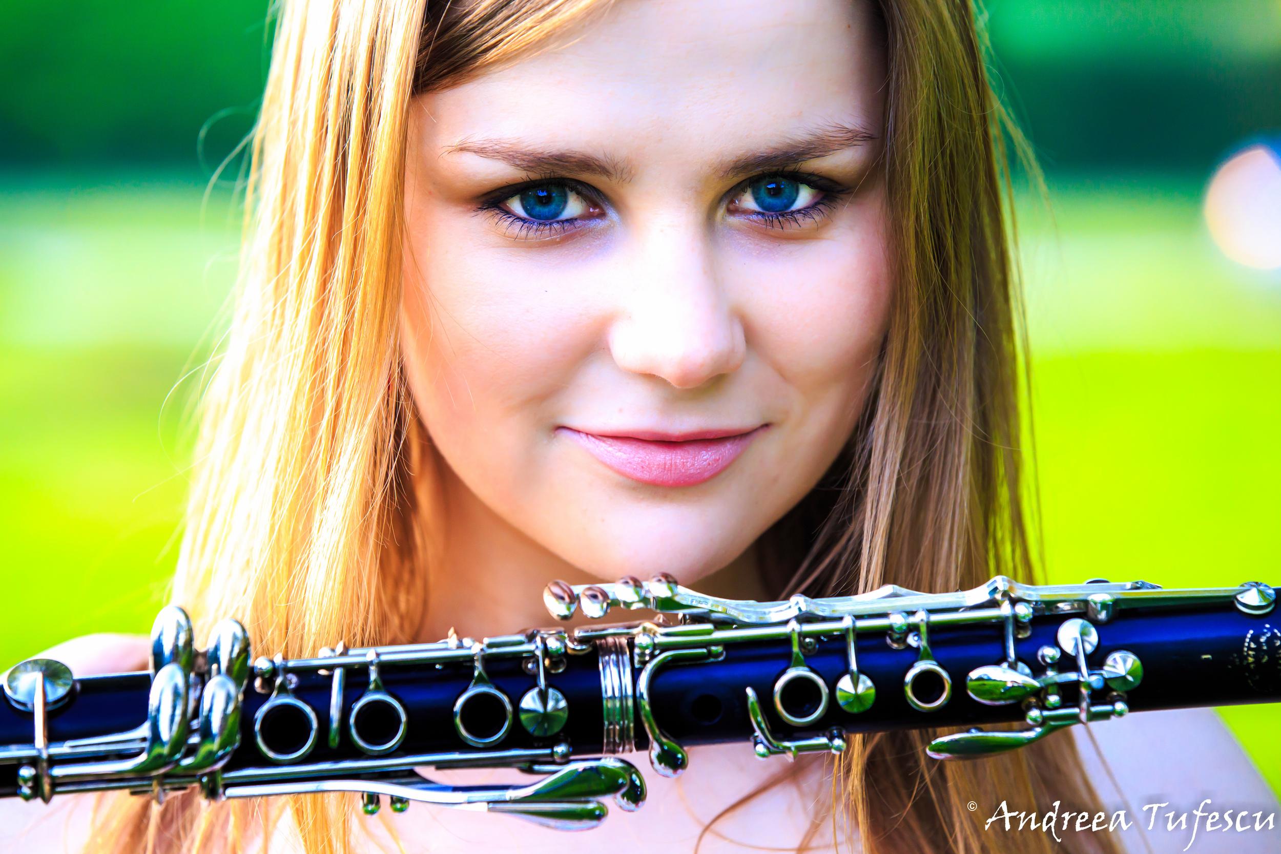 Clarinetist ALZBETA KLASOVA