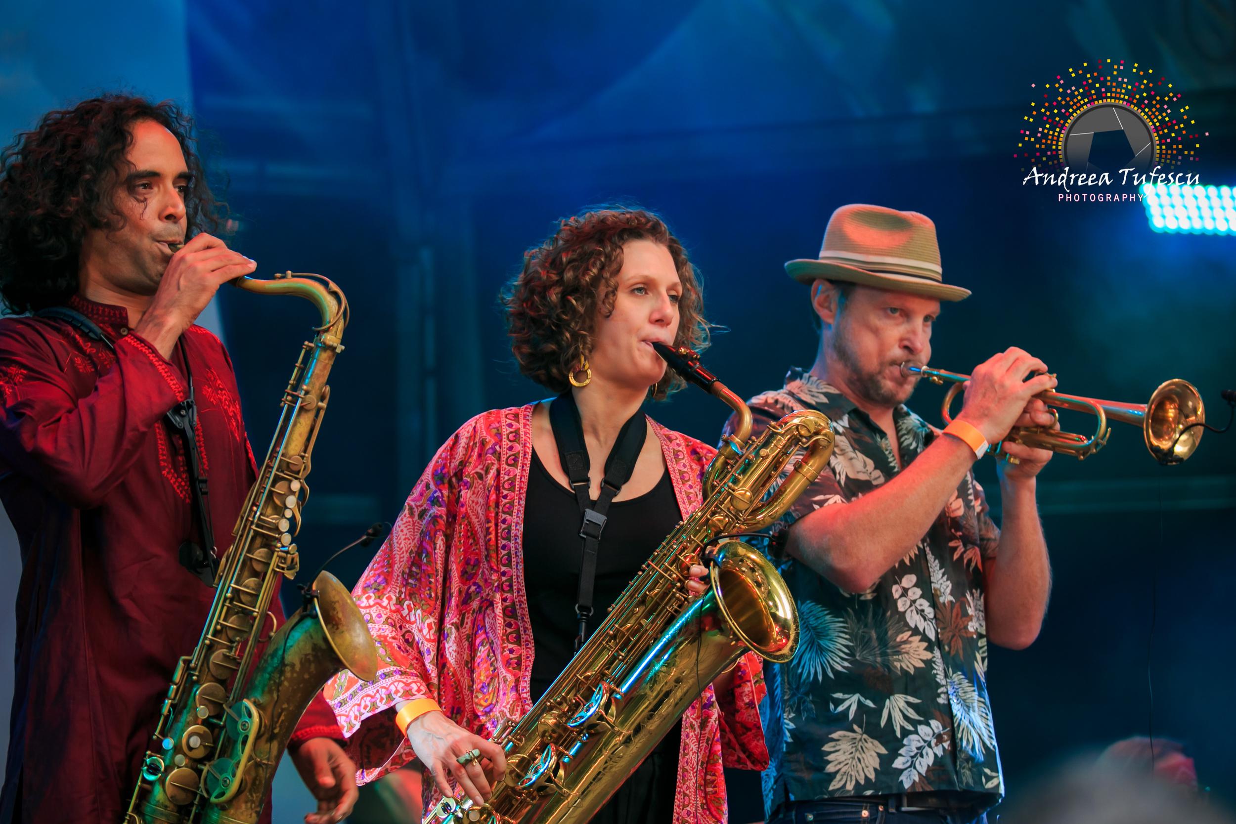 Canary Wharf Jazz Festival (August 2015)