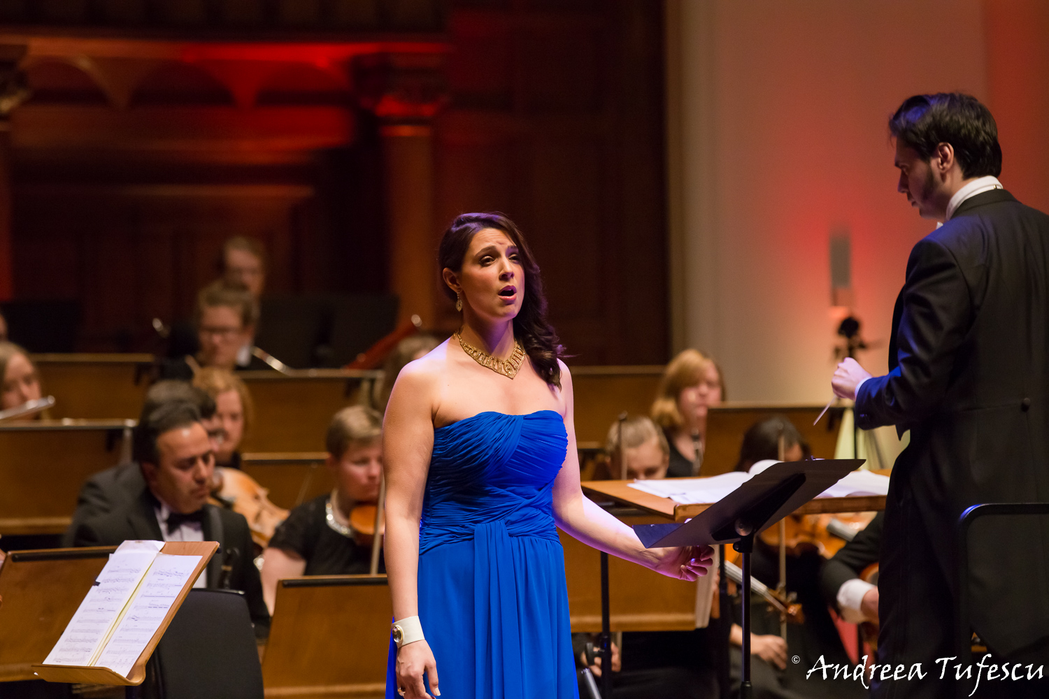 Light of Music concert at the Cadogan Hall (January 2016)