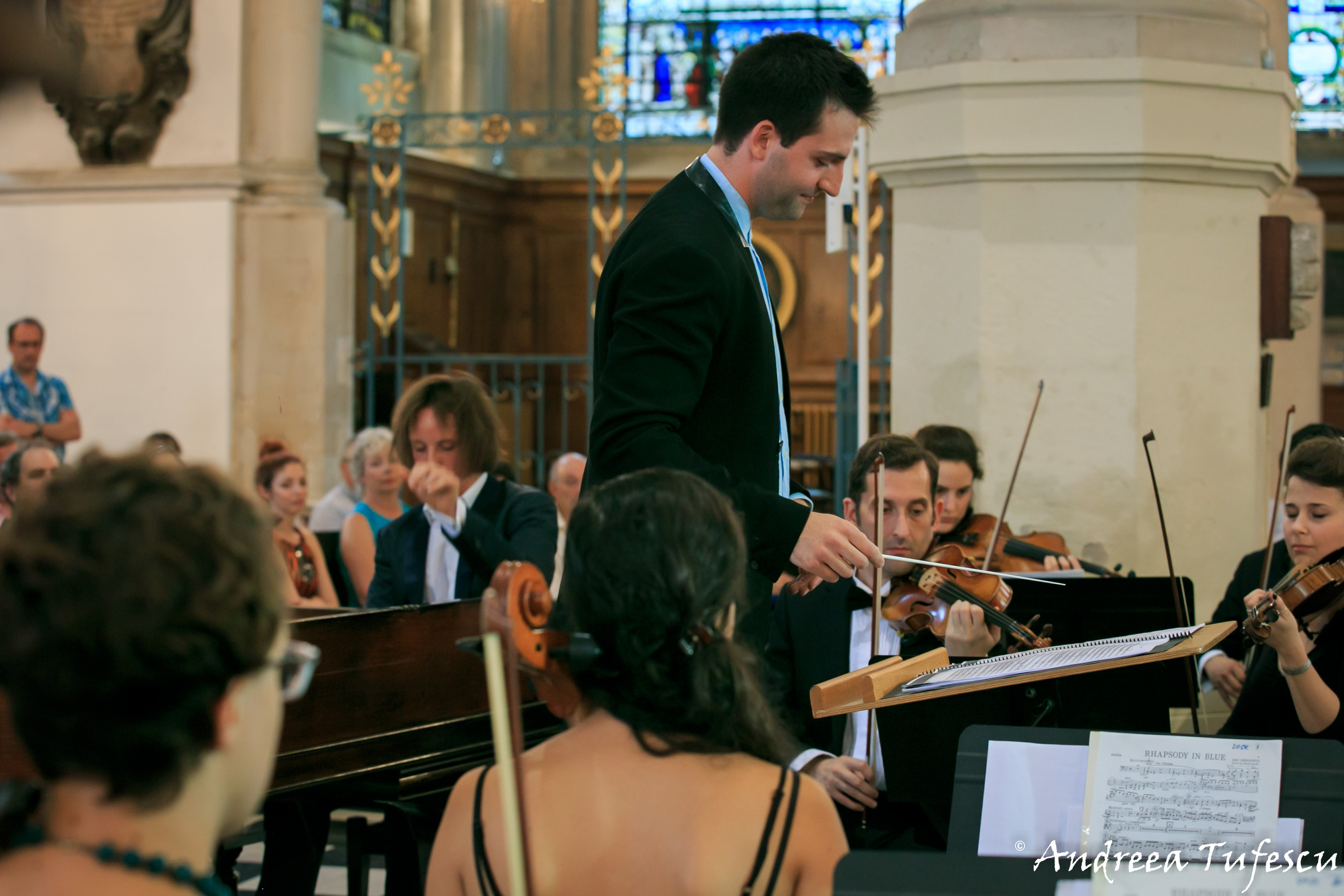 London City Orchestra concert by London photographer Andreea Tufescu