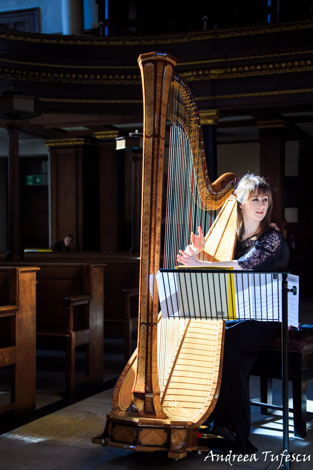 St Cecilia Ensemble at St James's Piccadilly by London photographer Andreea Tufescu