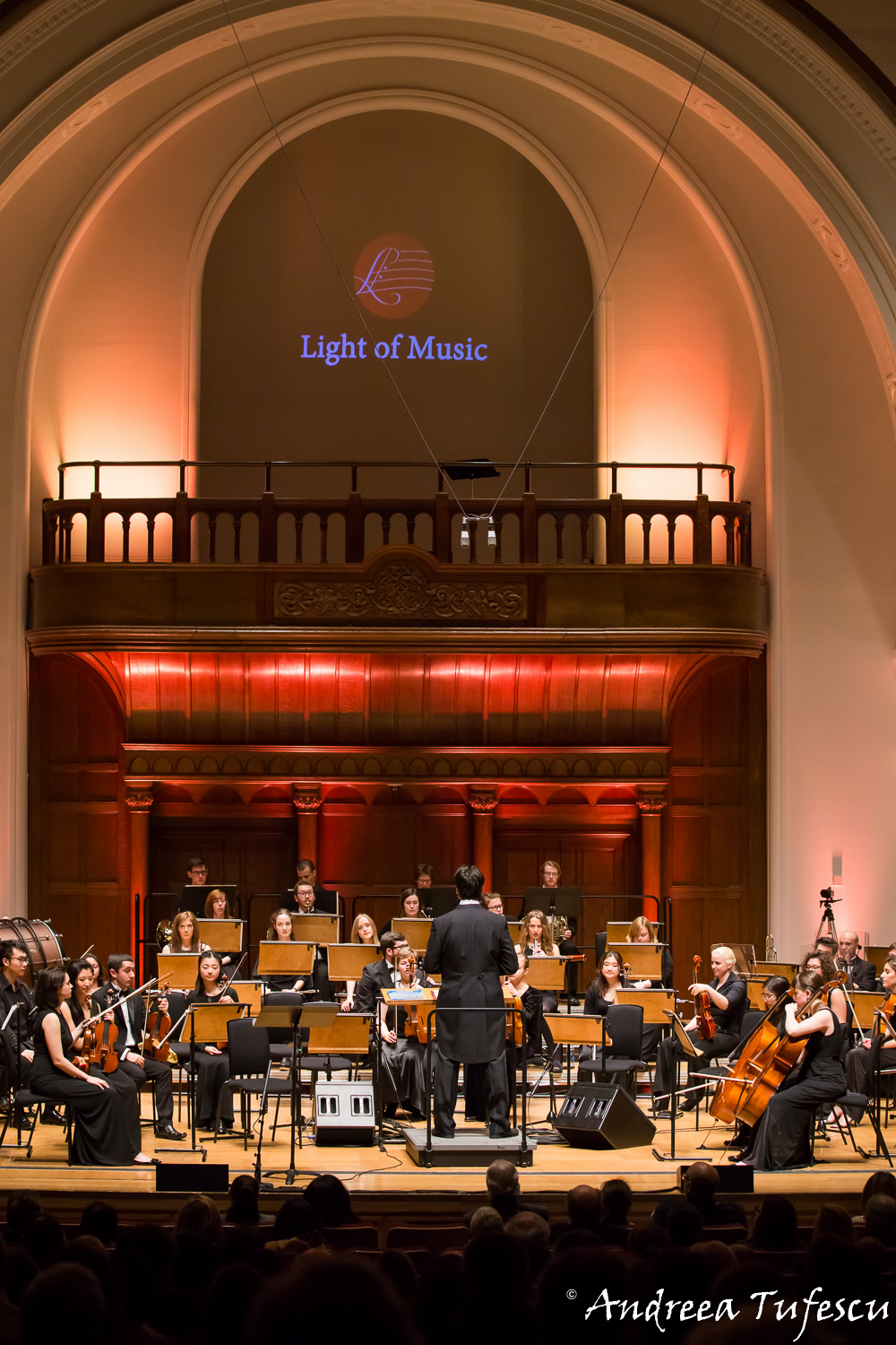 Light of Music classical concert at Cadogan Hall by London photographer Andreea Tufescu
