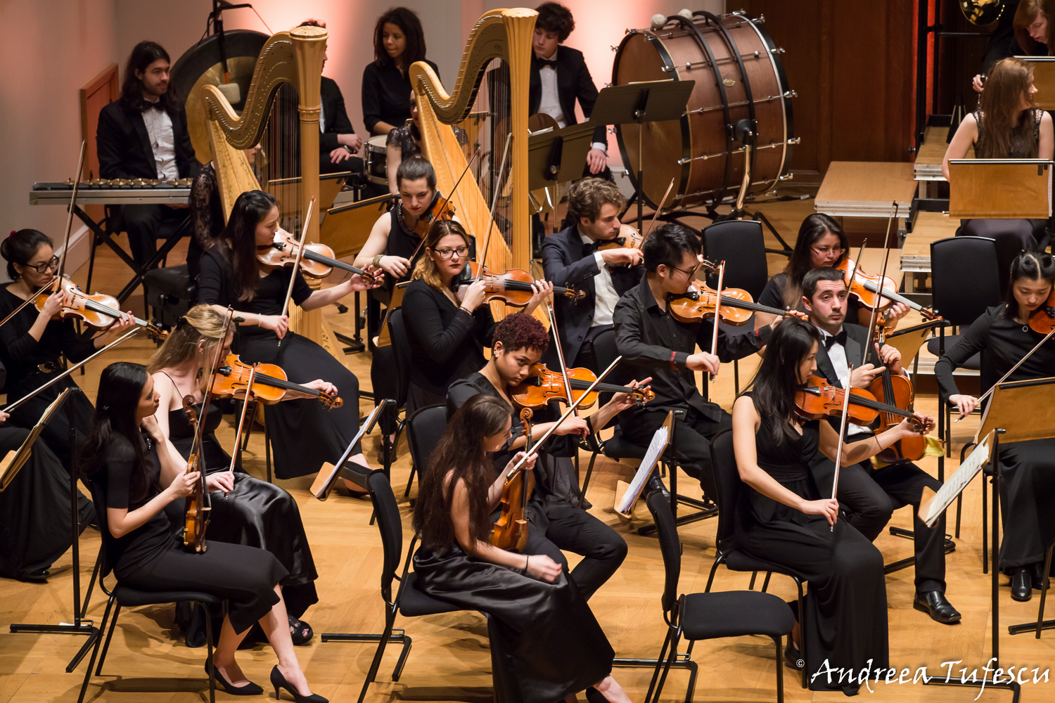 Event photography - Light of Music orchestra