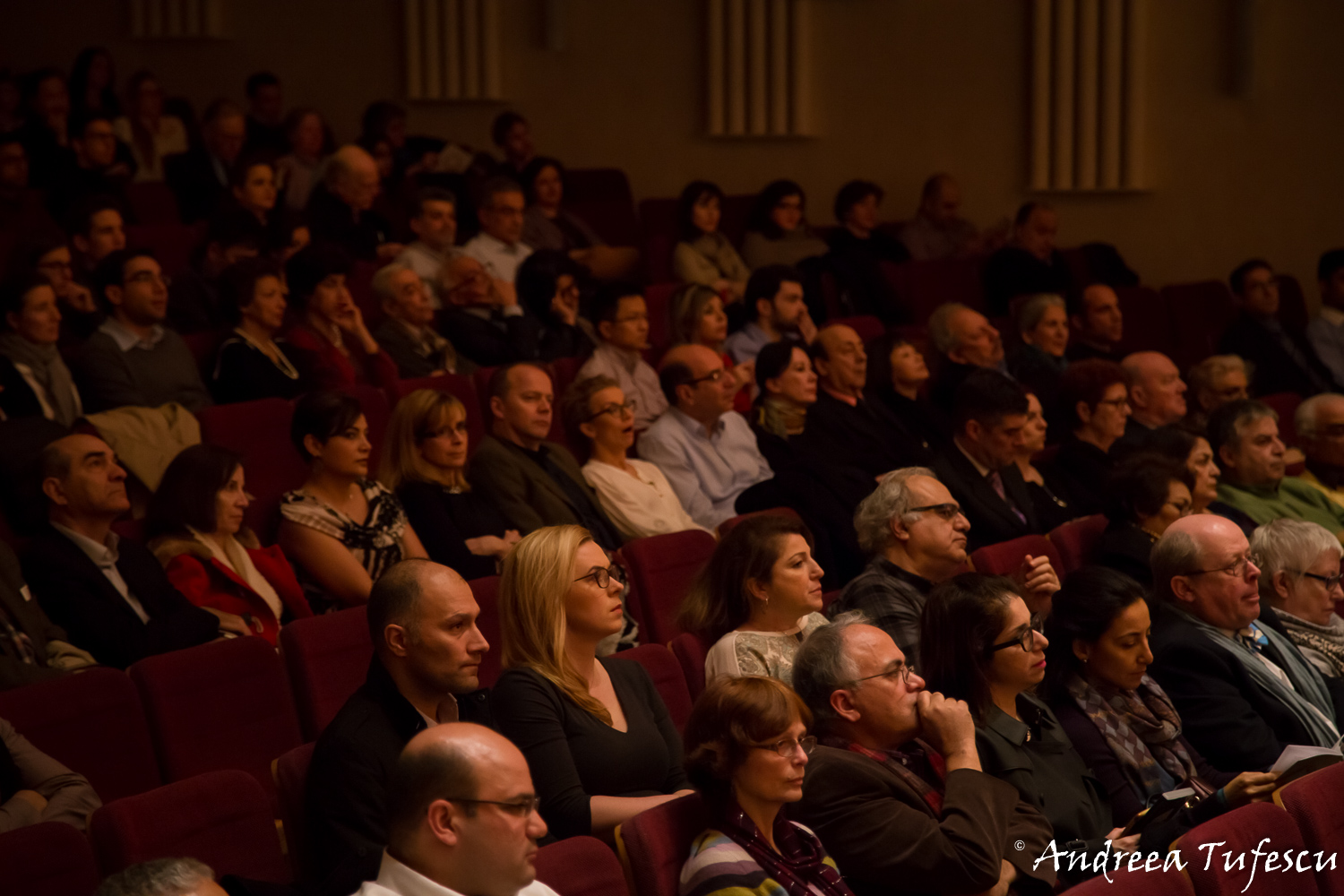 Classical concert photography - audience at the Cadogan Hall
