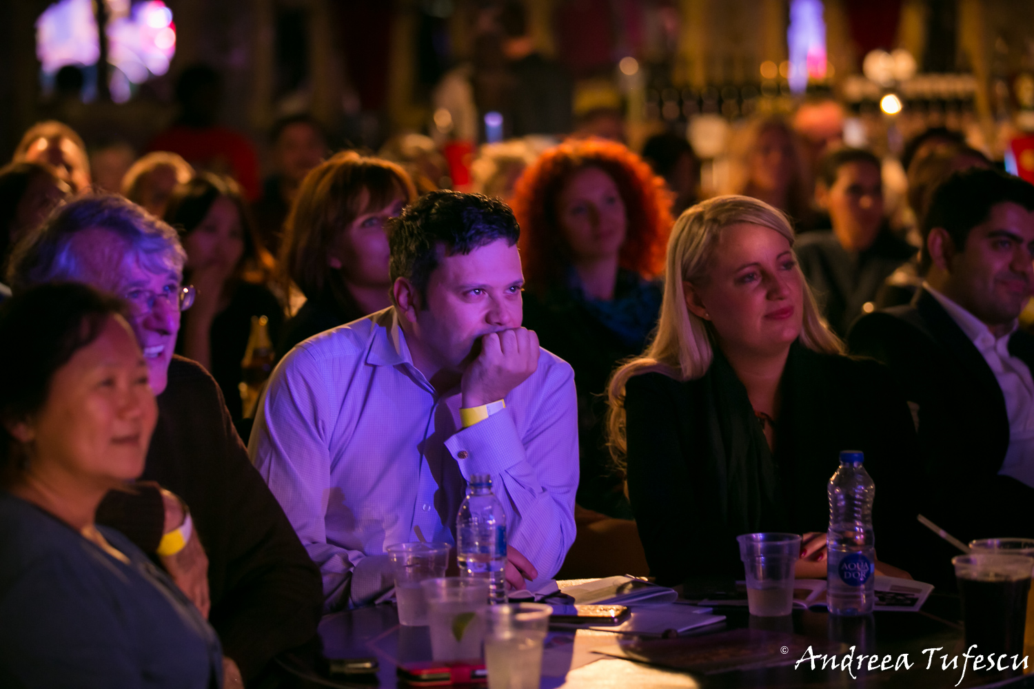 Spiegeltent Cabaret at Canary Wharf by London photographer Andreea Tufescu