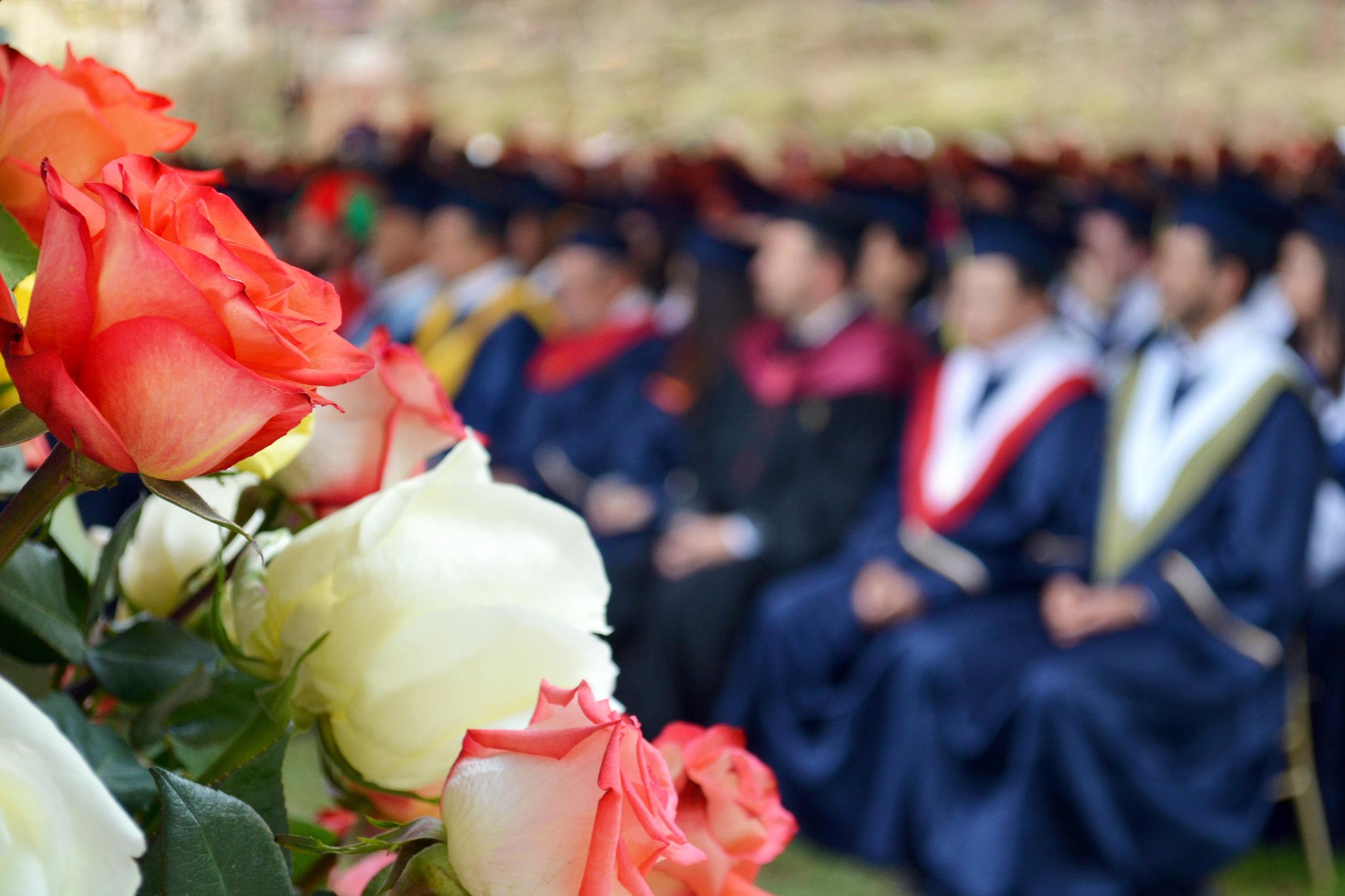 London Graduation Photography - audience