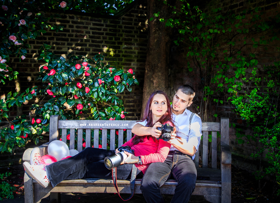 Alternative Wedding and Engagement Photography by Andreea Tufescu - Photographers' Portrait London A & A