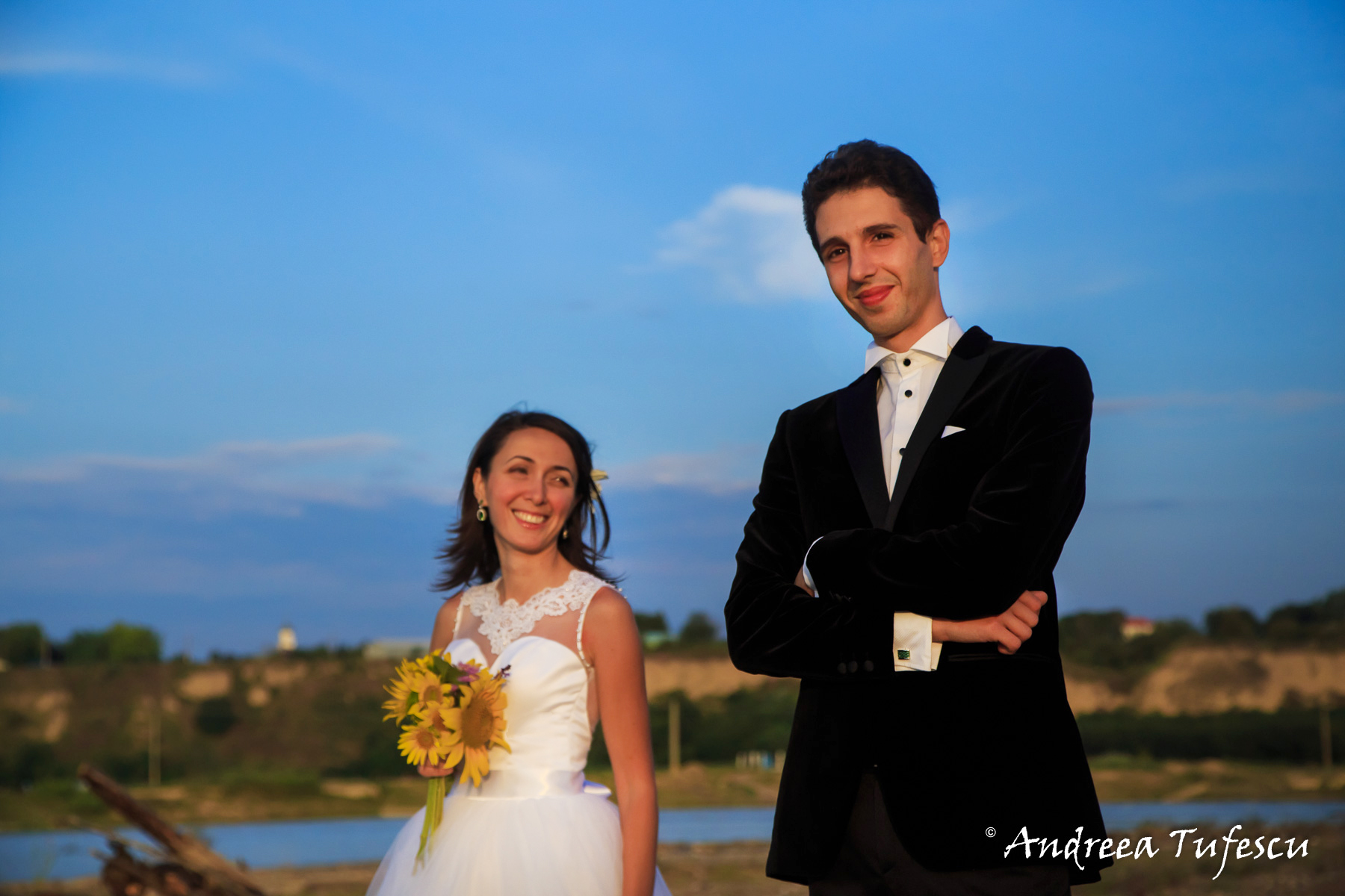 Wedding Photography by Andreea Tufescu - A & E Trash the Dress -