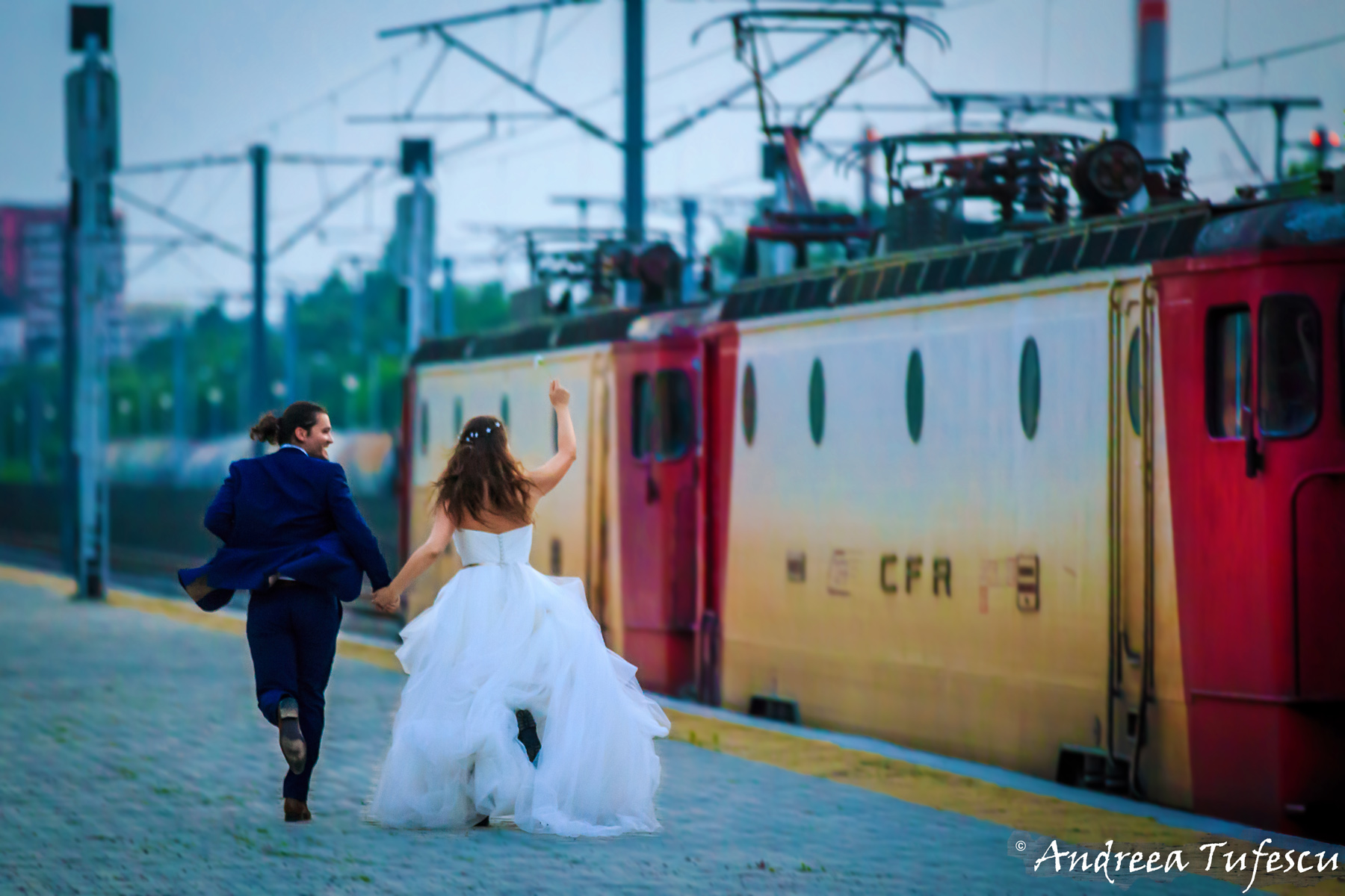 Wedding Photography by Andreea Tufescu - R & D Trash the Dress -