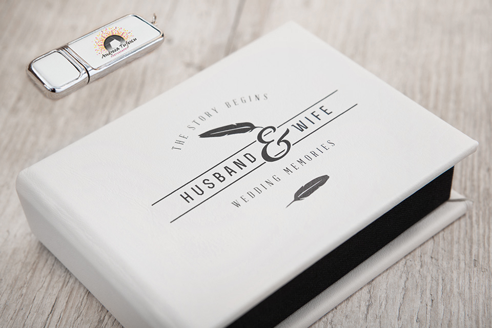 Wedding and Portrait Photography Products - Media Storage - USB & DVD