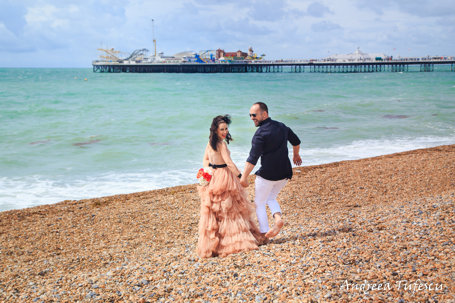 Wedding and Engagement Photography by Andreea Tufescu - Love the Dress photoshoot Brighton A & A