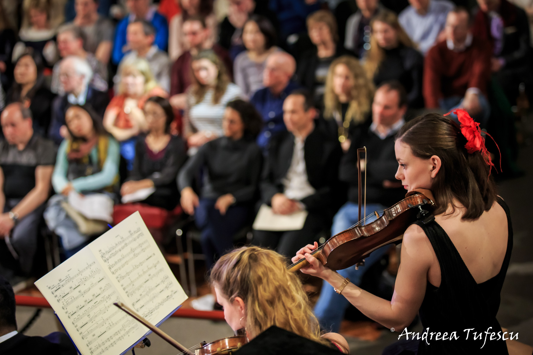 London City Orchestra at Regent Hall by London photographer Andreea Tufescu