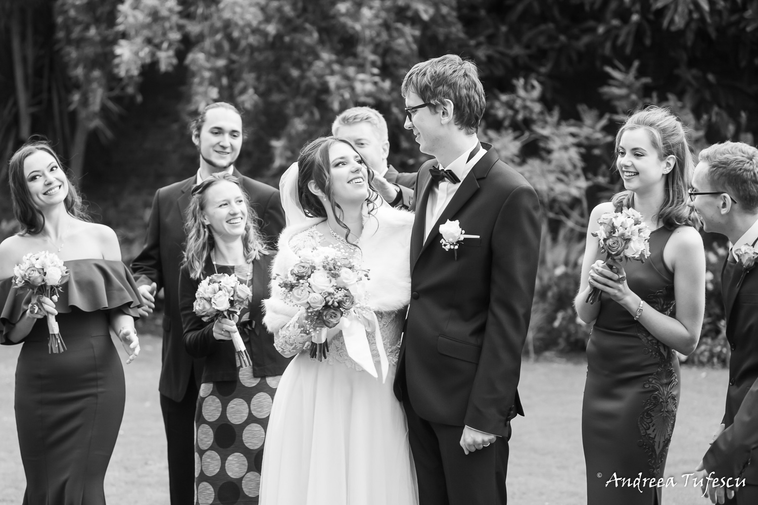 Wedding Photography by Andreea Tufescu - K & M Alternative Wedding - Kew Gardens wedding West London