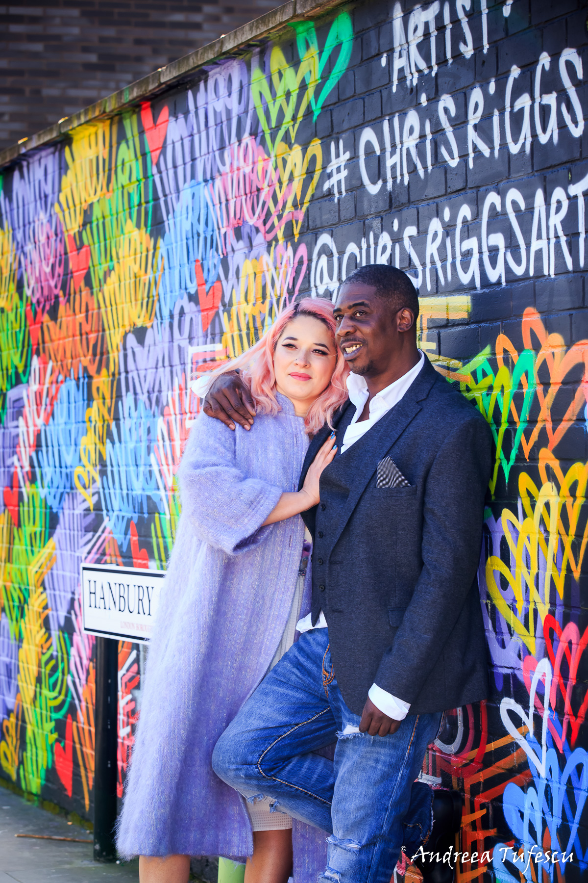 Wedding and Engagement Photography by Andreea Tufescu - A & B Couple Session - Couple Photoshoot East London Shoreditch