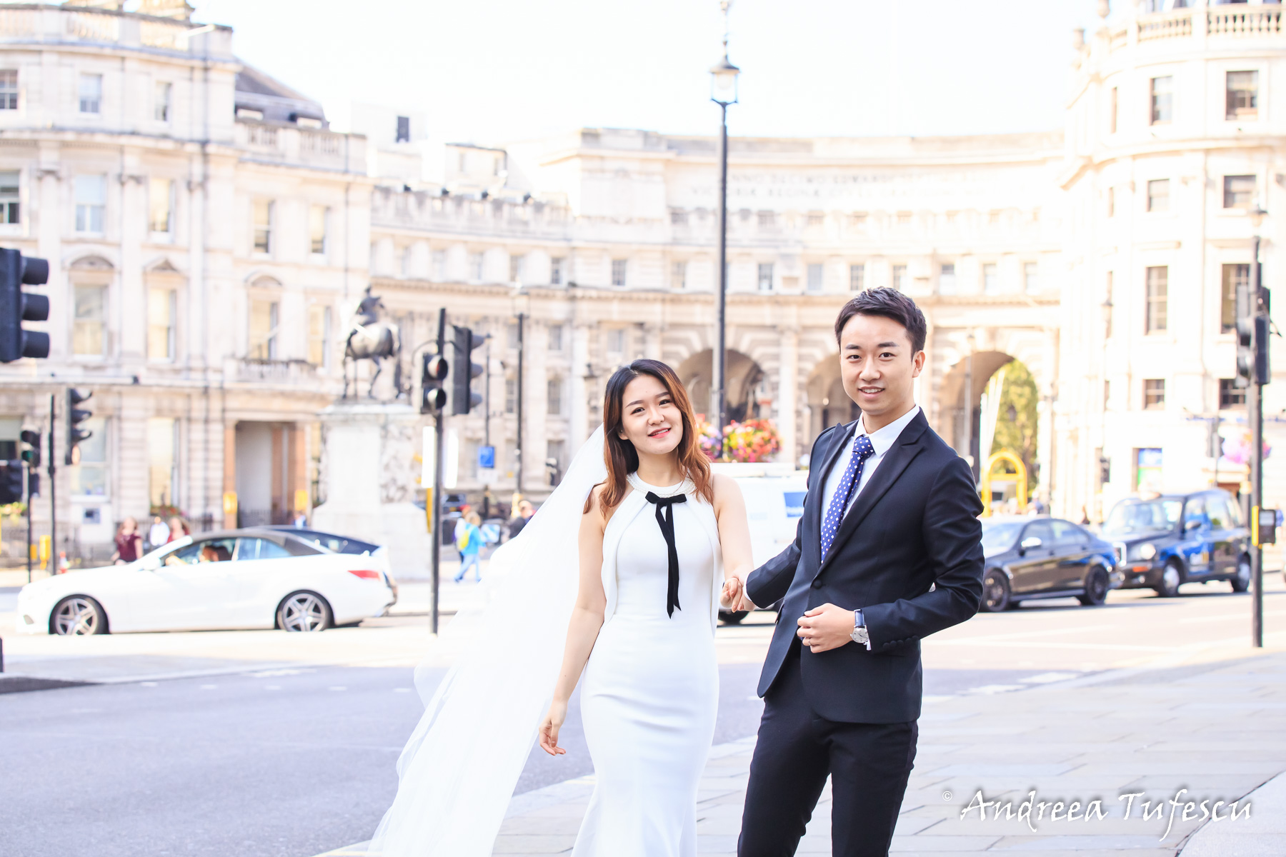 PreWedding Photoshoot Central London Trafalgar Square C & E