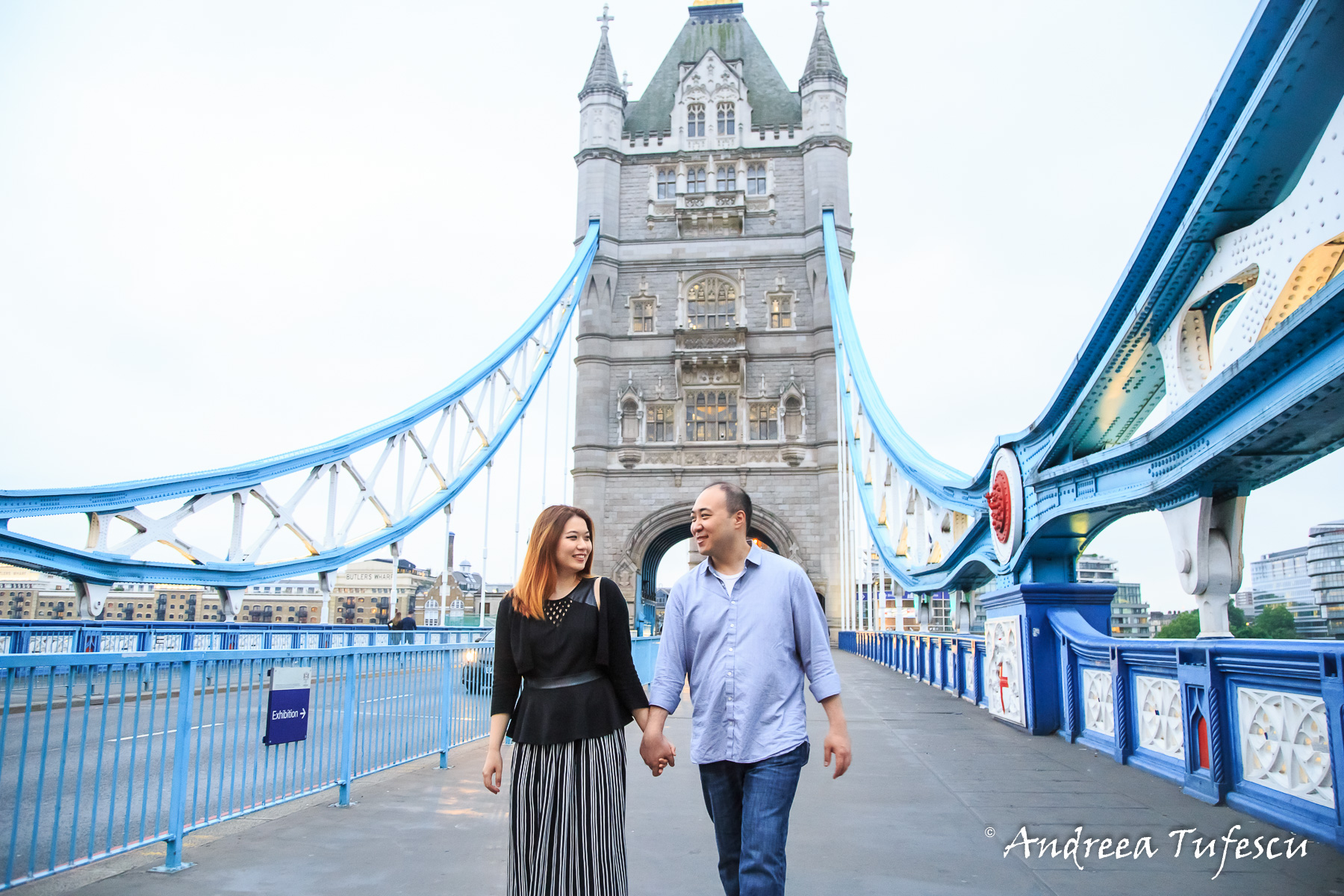 Proposal Photoshoot Central London Tower Bridge H & R