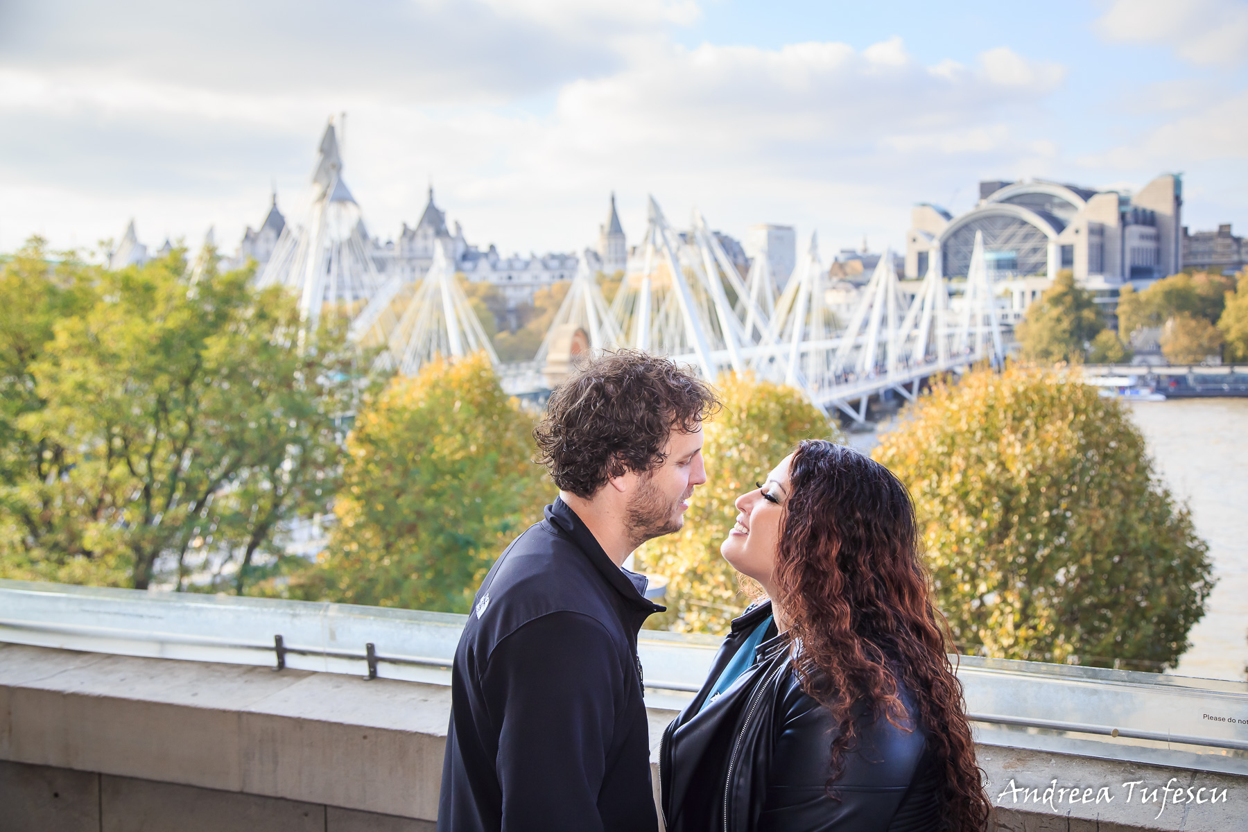 Engagement Photoshoot Central London Southbank Centre S & J