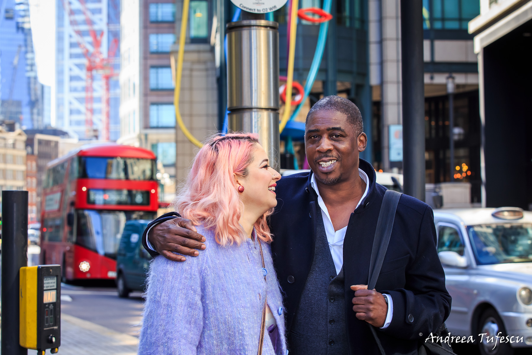 Couple Photoshoot Central London Liverpool Street A & B