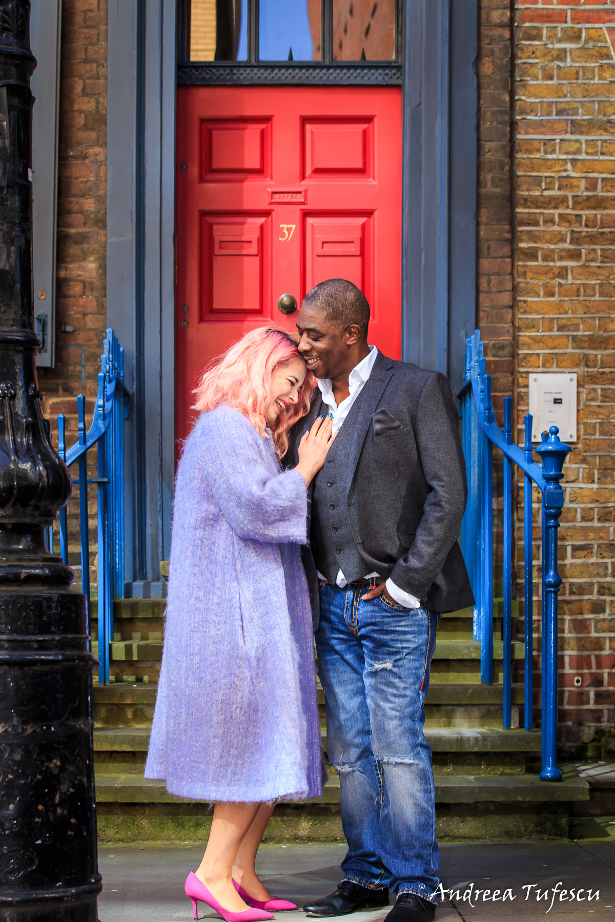 Couple Photoshoot East London Shoreditch A & B