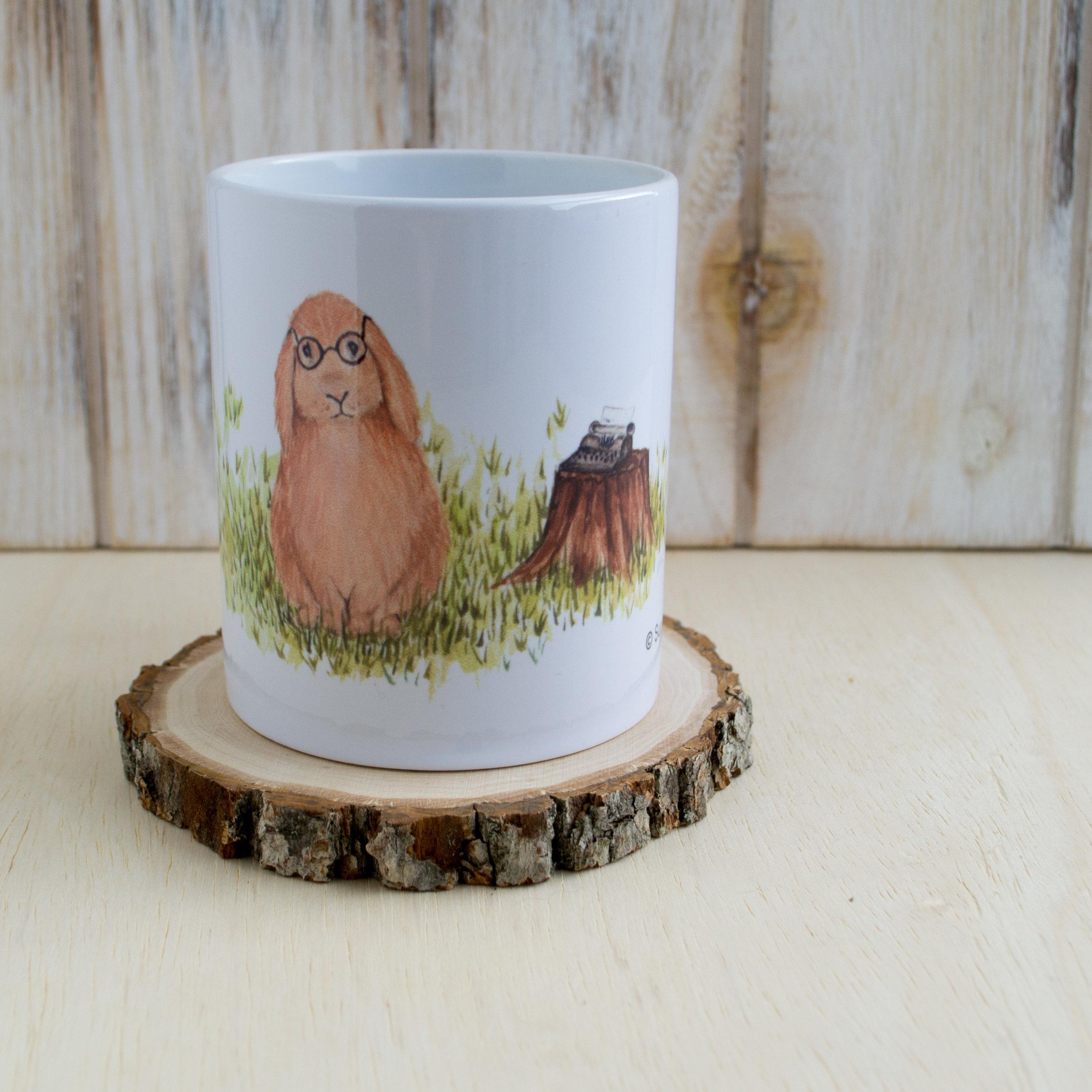 Woodland Bunny Mug