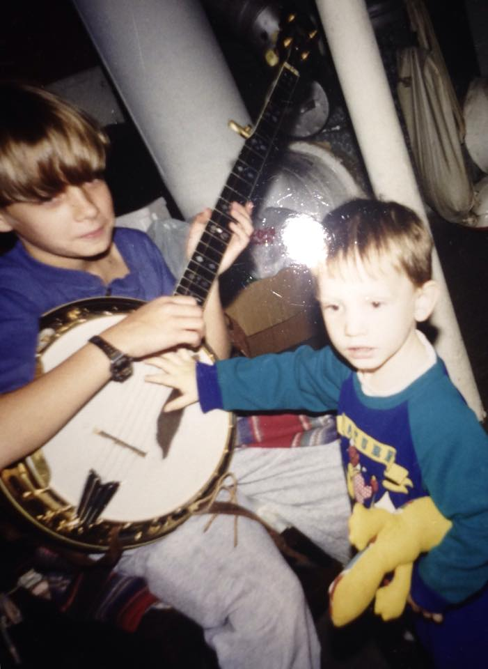 Sean as young boy with banjo 2.jpg