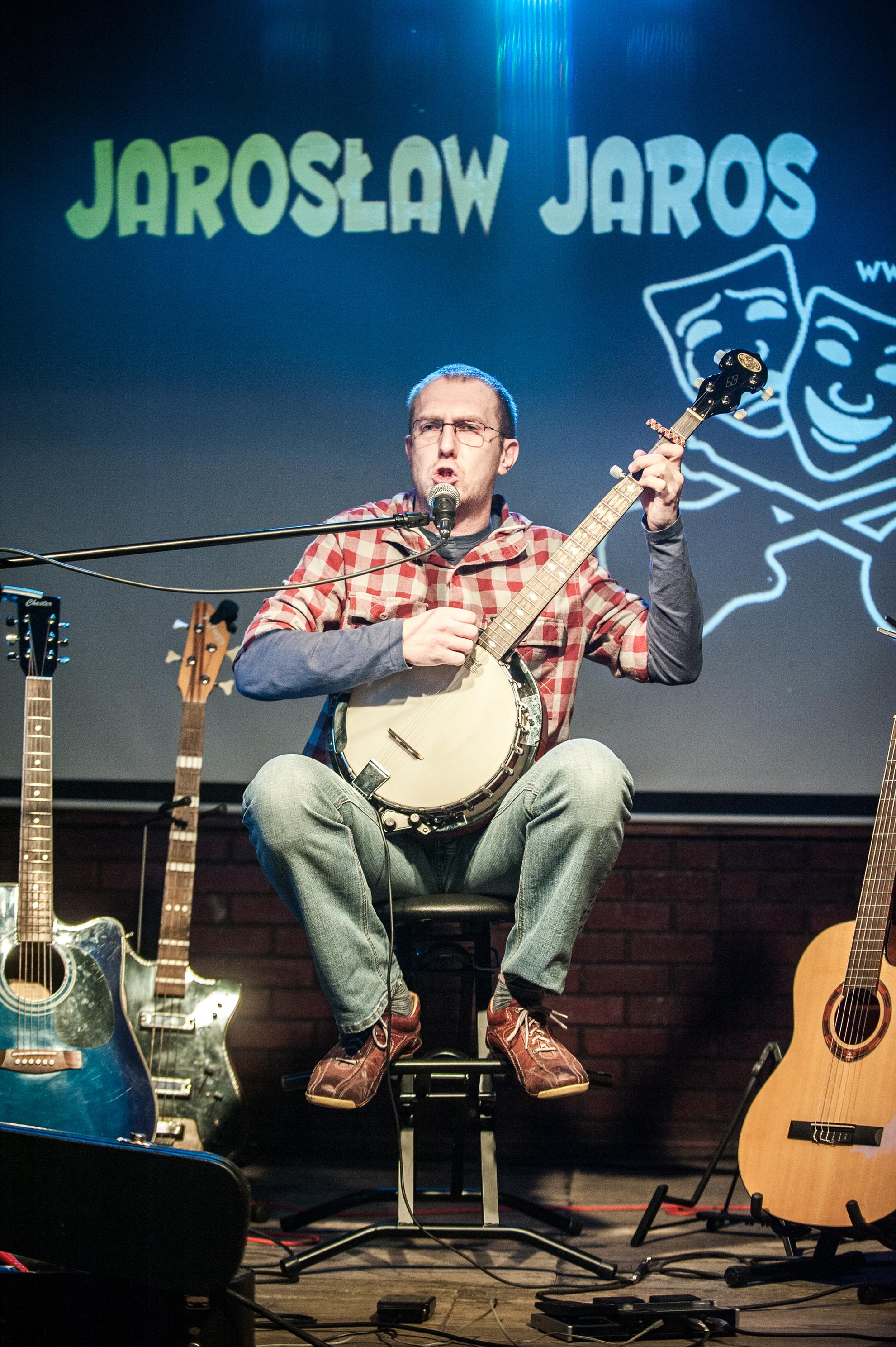 Jaroslaw Jaros - banjo (fot. Magdalena Tomczyk).jpg