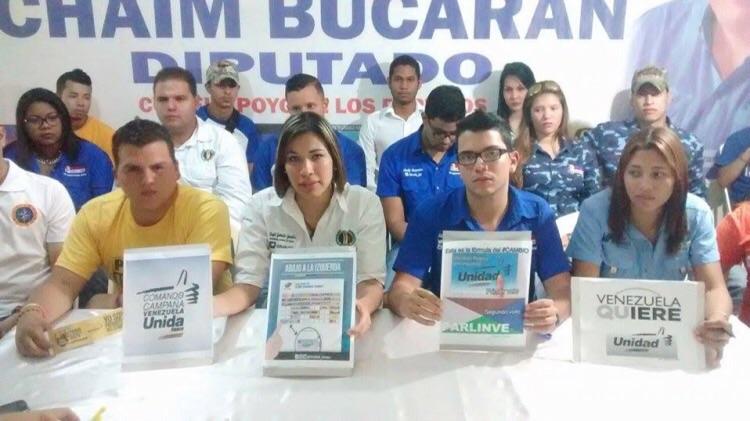 Mesa de Unidad Democrática Juvenil de Anaco, Anzoátegui   Foto: cortesía