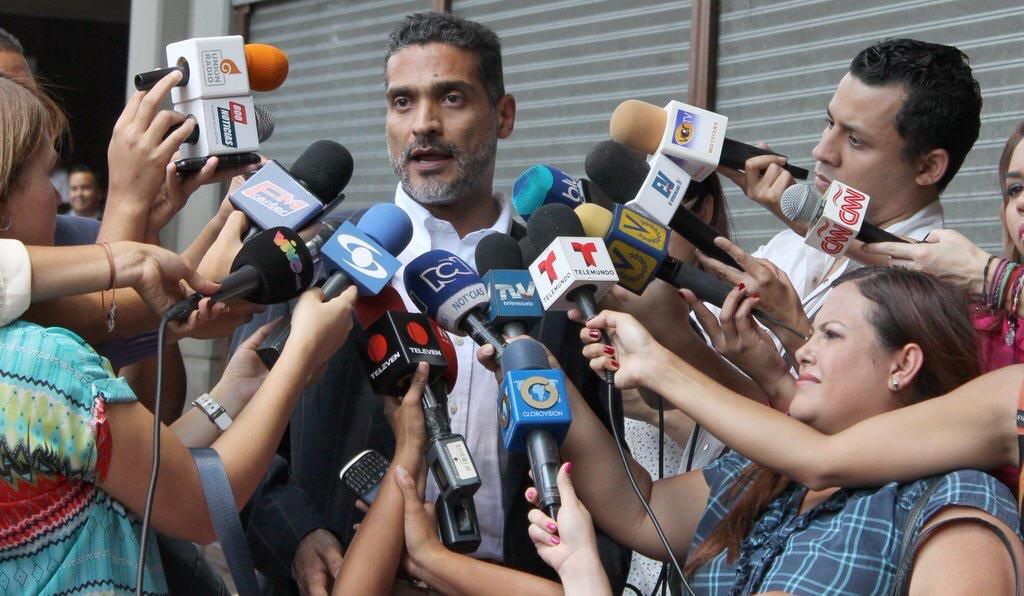 """Juan Carlos Gutiérrez, defensor de Leopoldo López: """"Franklin Nieves evidencia una vez más la ilegalidad de su condena, un fraude procesal""""   Foto: archivo"""